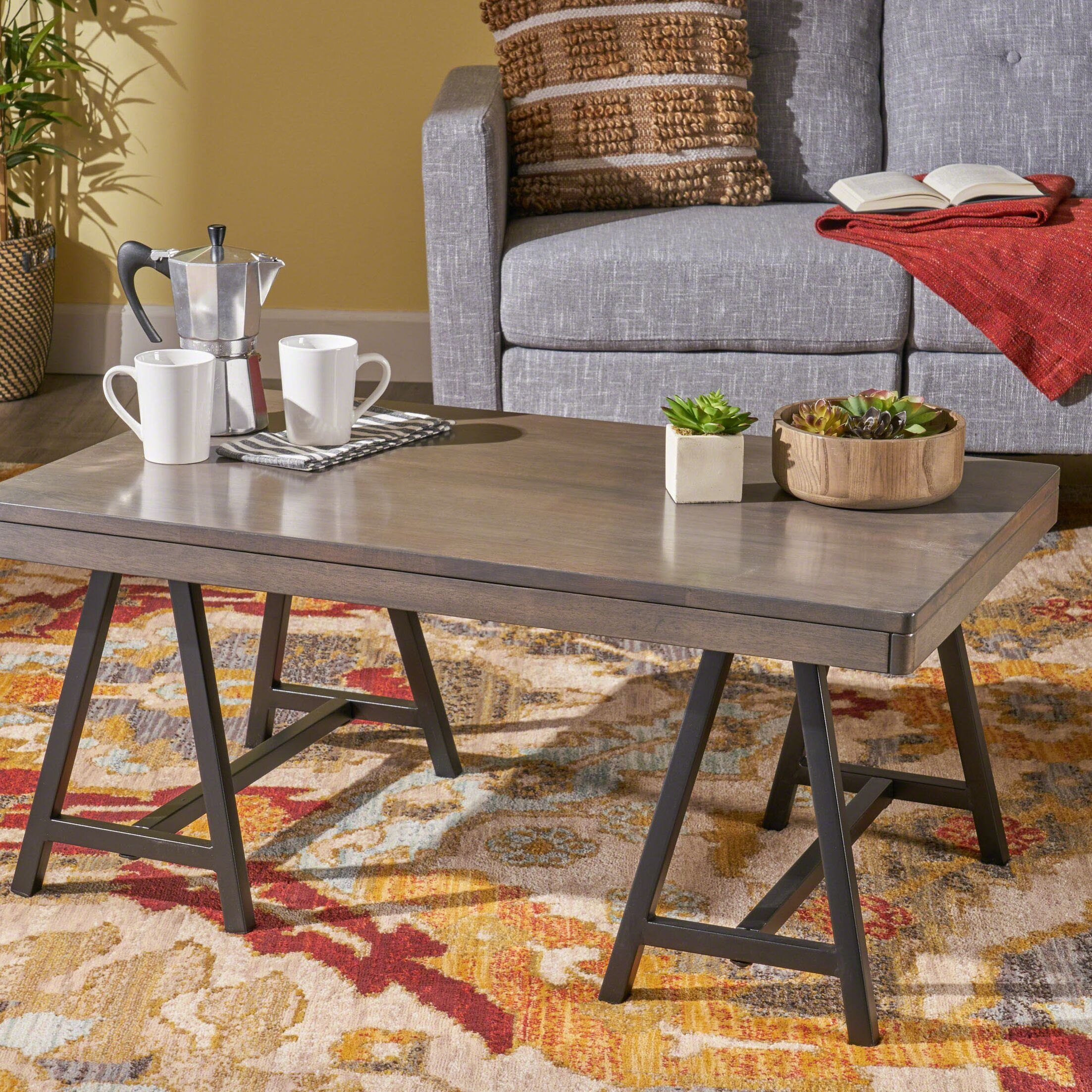 Atkins Coffee Table Table Top Color: Gray