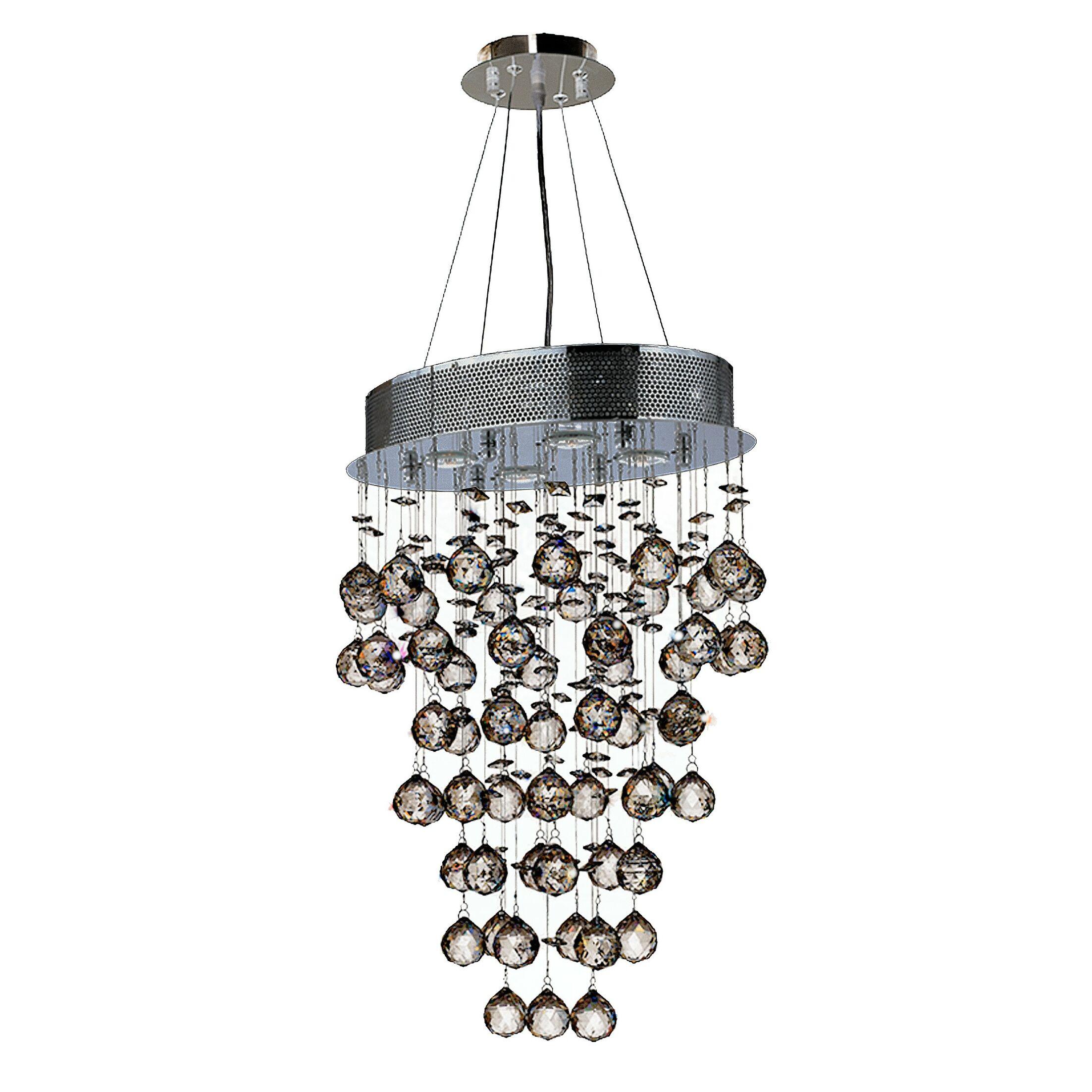 Leiker 4-Light Cluster Pendant