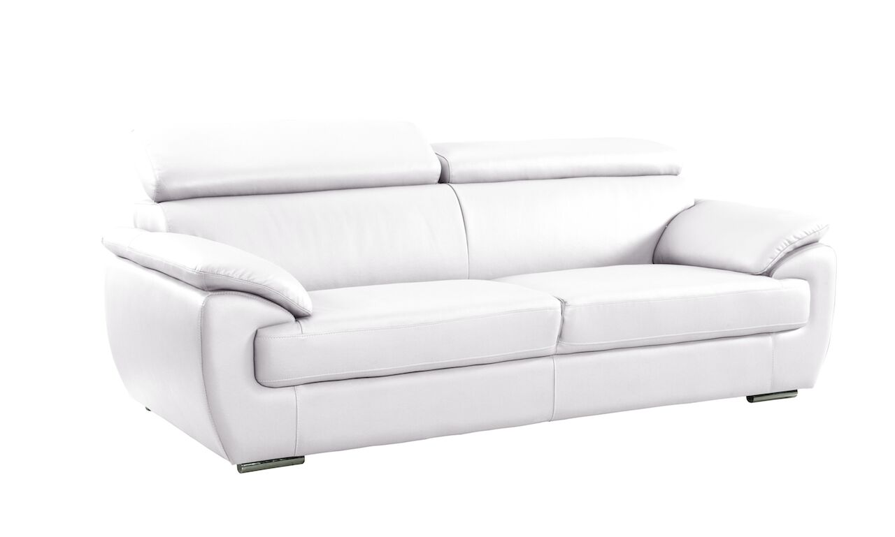 Haworth Luxury Living Room Sofa Upholstery: White