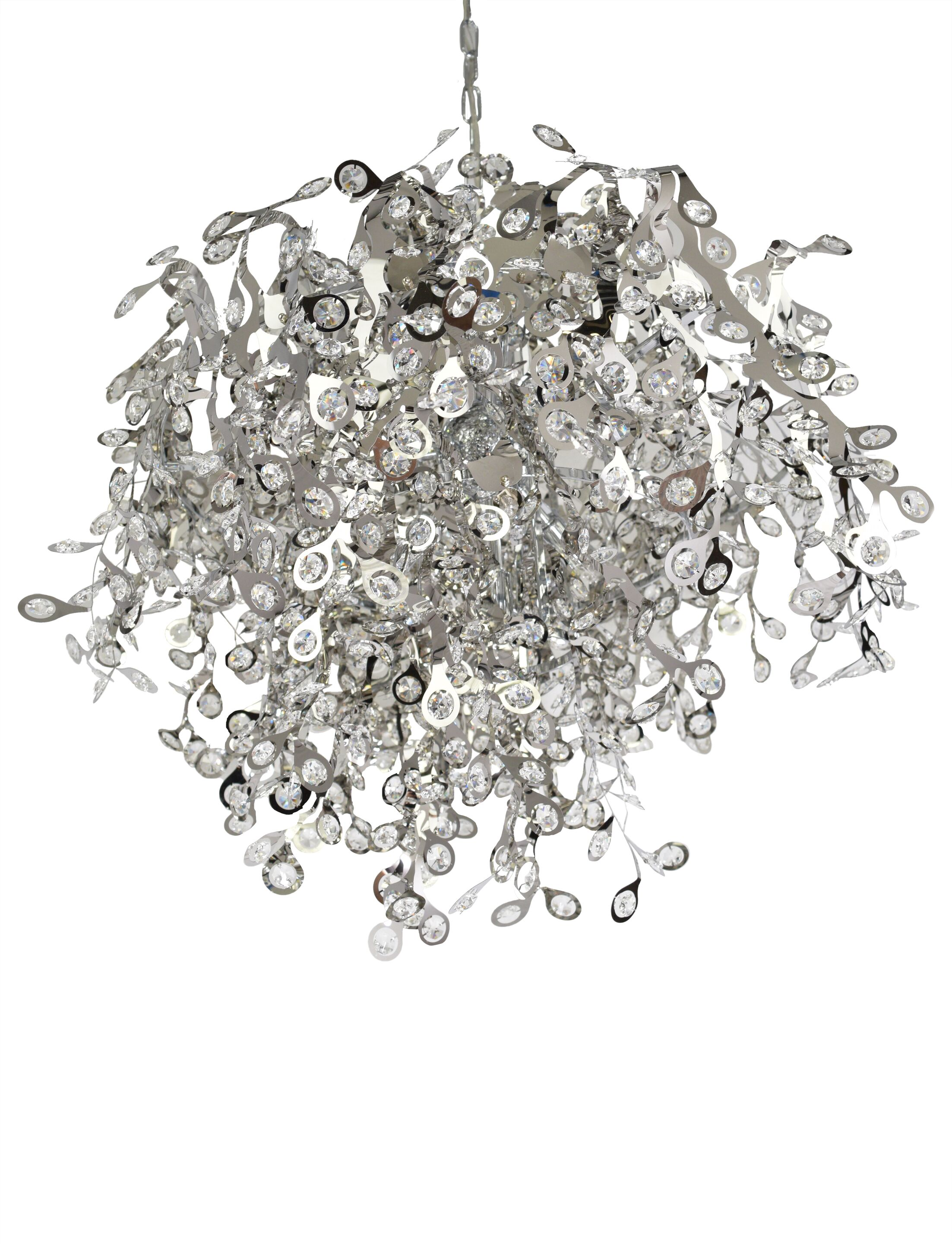 Leonia 10-Light Crystal Chandelier