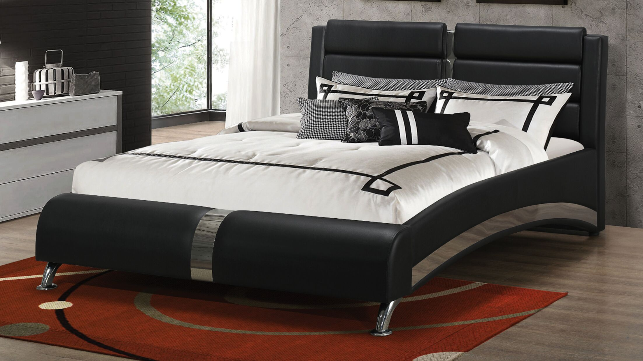 Crews Upholstered Platform Bed Color: California King