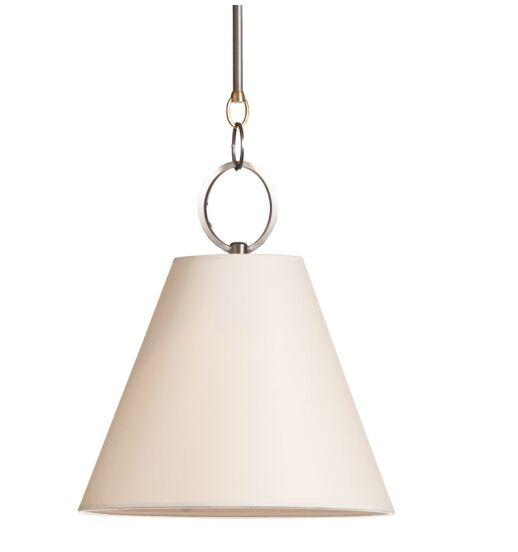 Molly 1-Light Cone Shade Mini Pendant Finish: Distressed Bronze, Size: 16.75