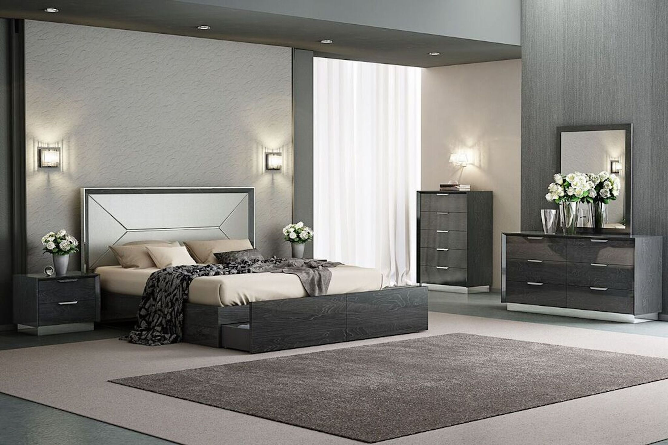 Aspinwall Upholstered Storage Platform Bed Size: Queen