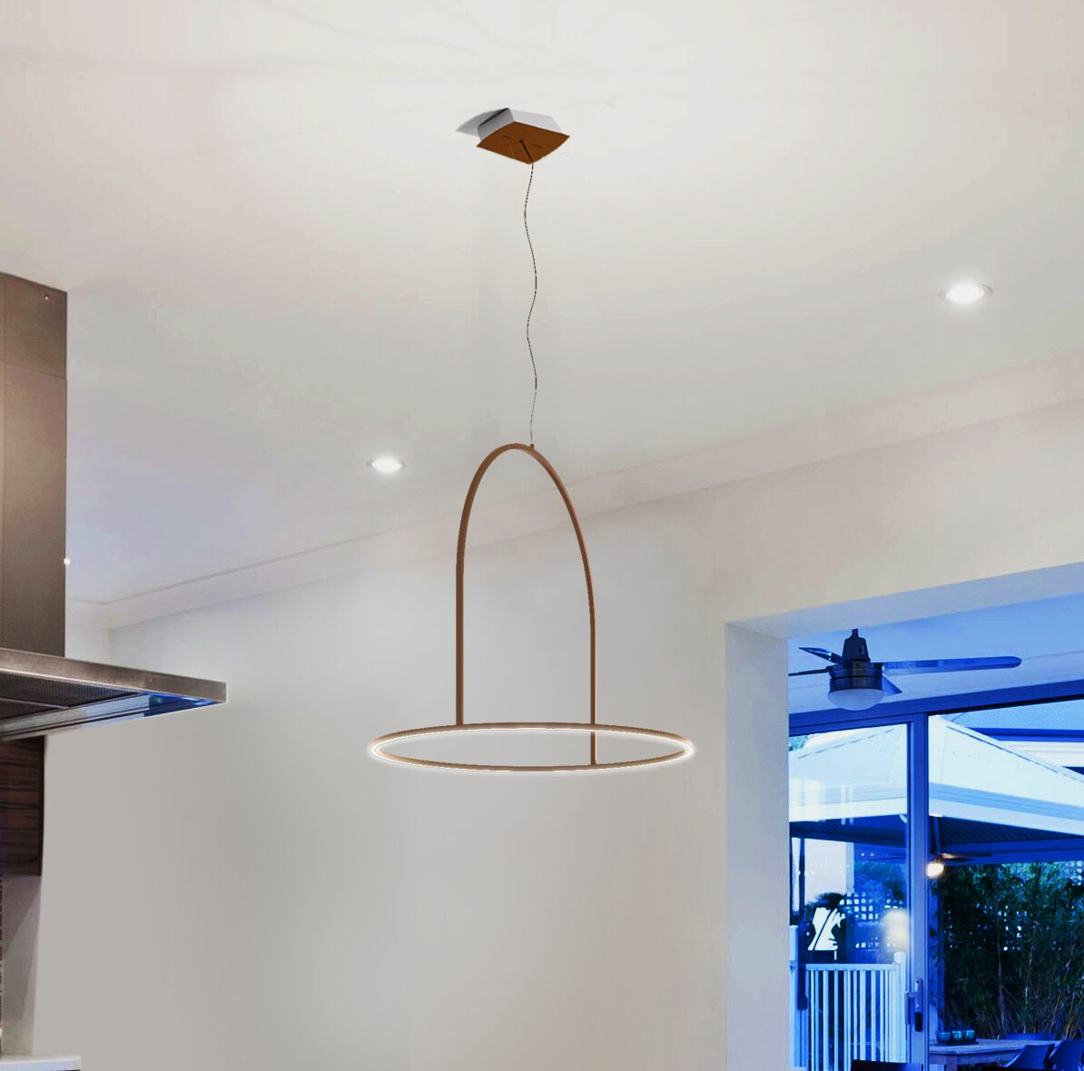 Palmetto Bluff  LED  Pendant
