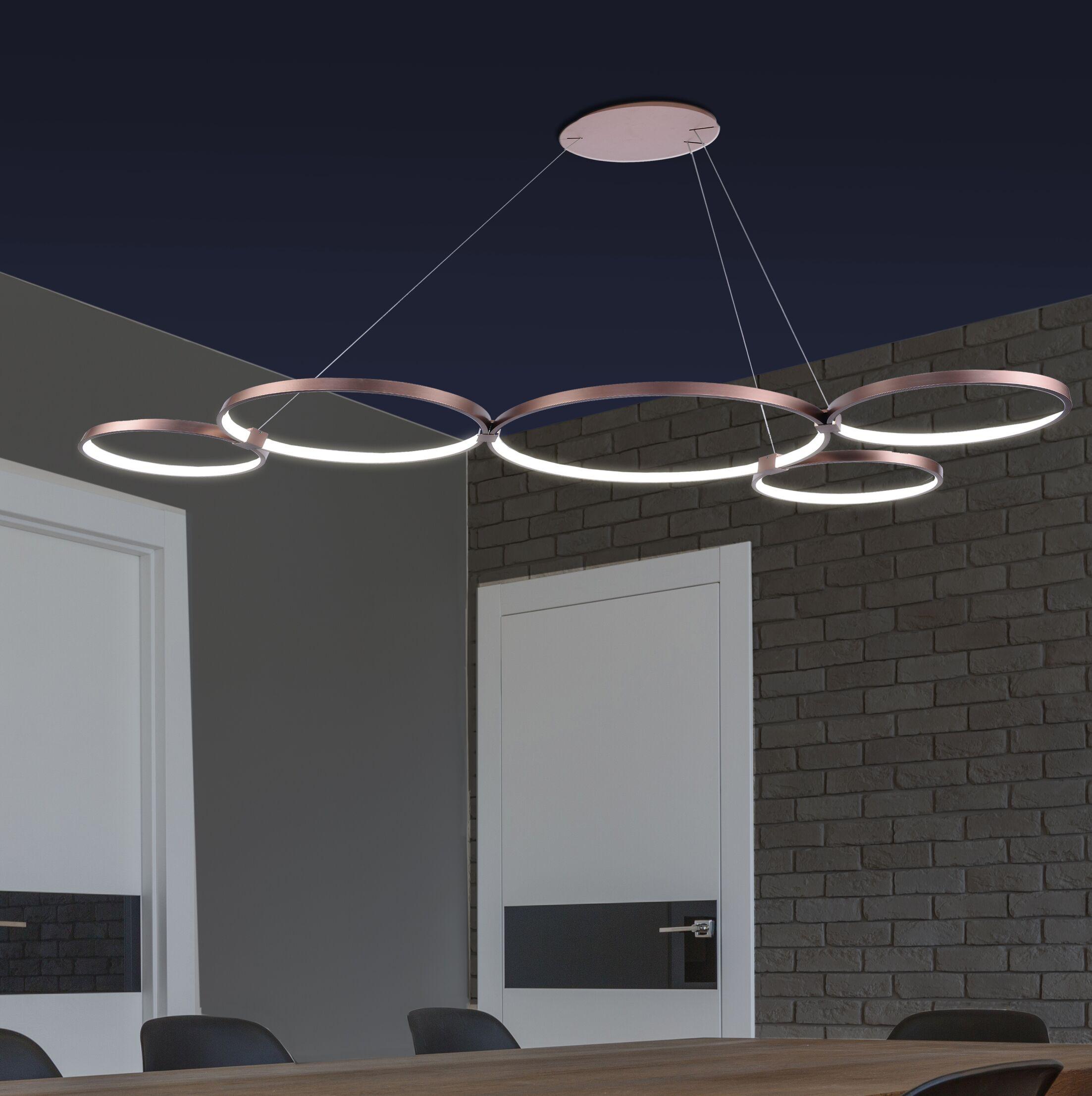 Beemer  LED  Pendant Finish: Copper