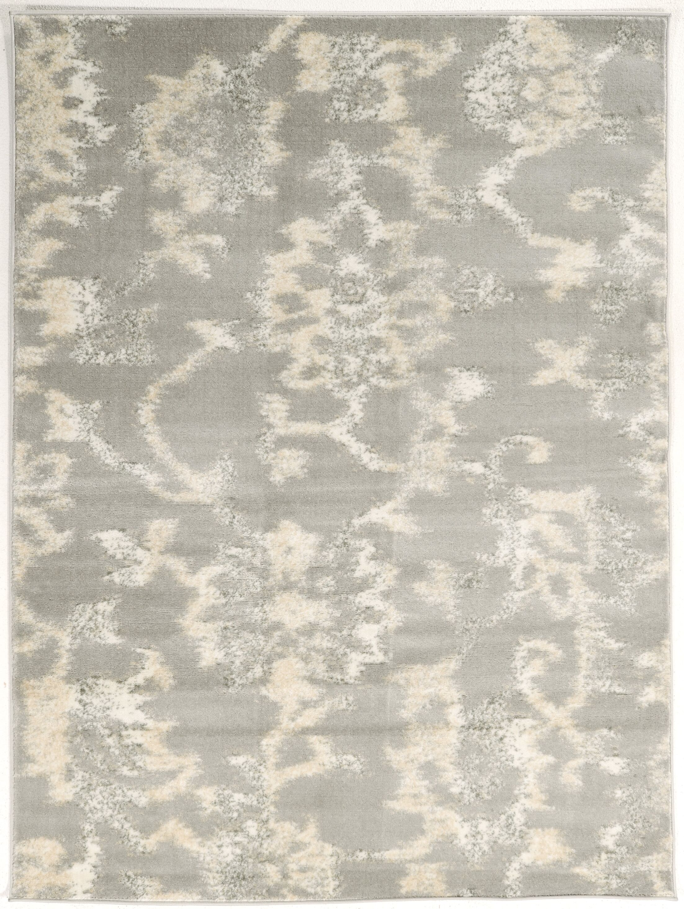 Delshire Gray Area Rug Rug Size: Rectangle 7'10
