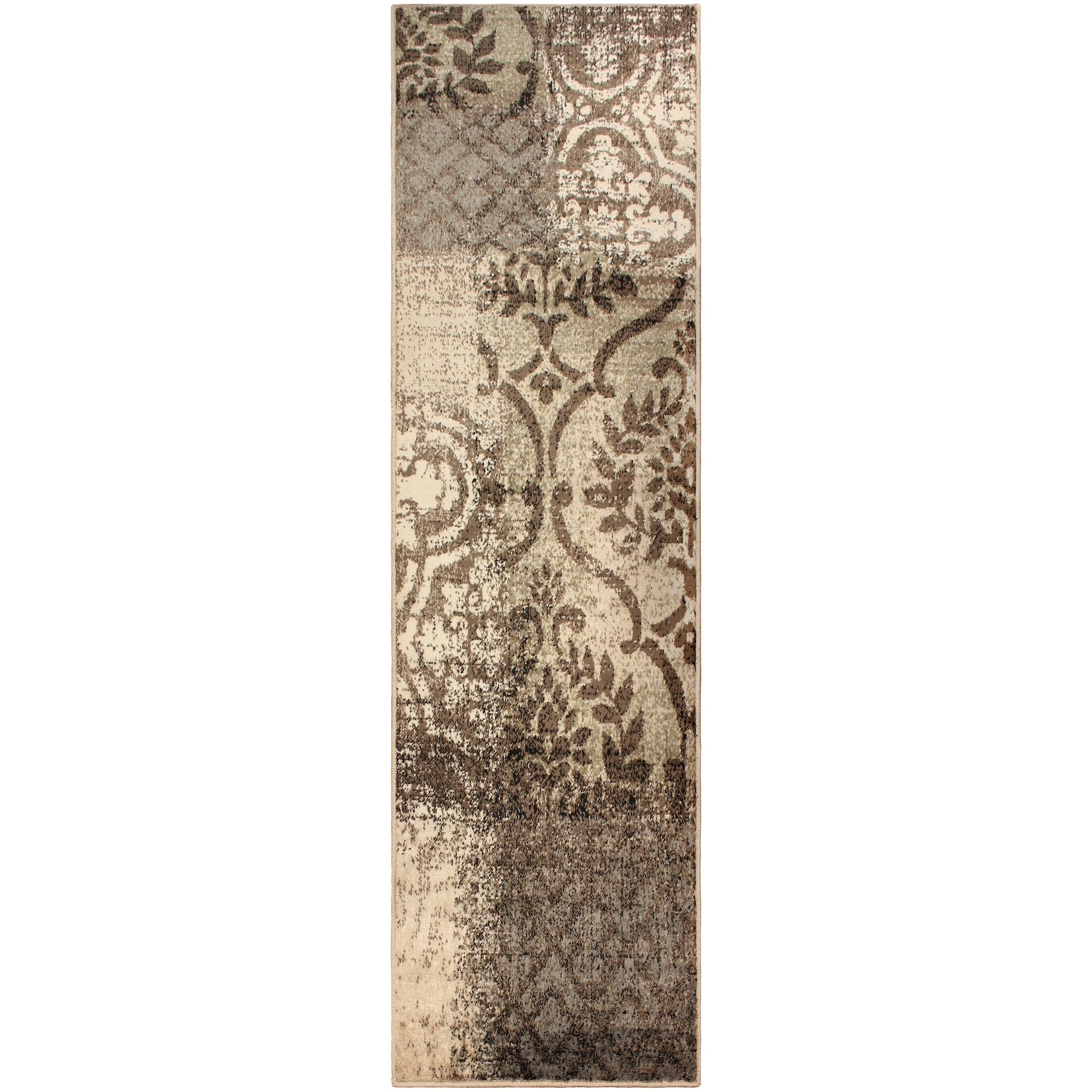 Anchor your ensemble in chic style with this lovely rug. Taking inspiration from both classic and contemporary designs, it showcases an eye-catching pattern with overlapping trellis and Damask detailing. More than just stylish, this rug is crafted fro...