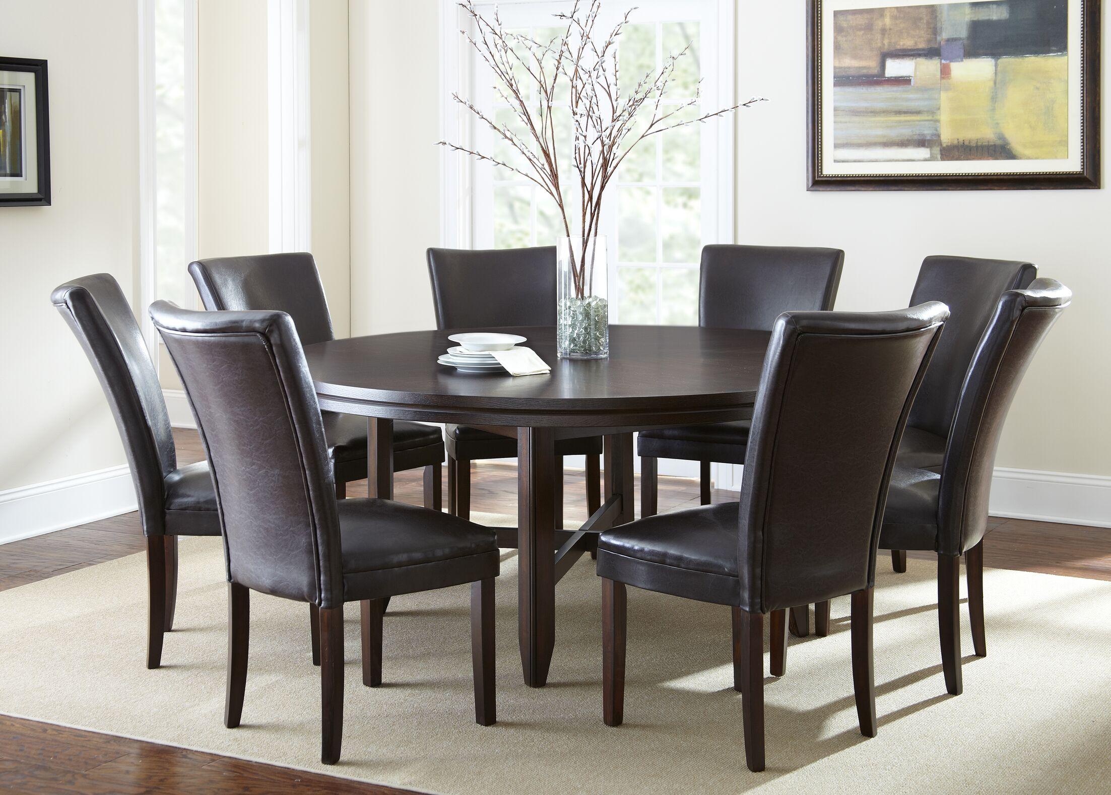 Dining Table Sets Fenley 9 Piece Dining Set