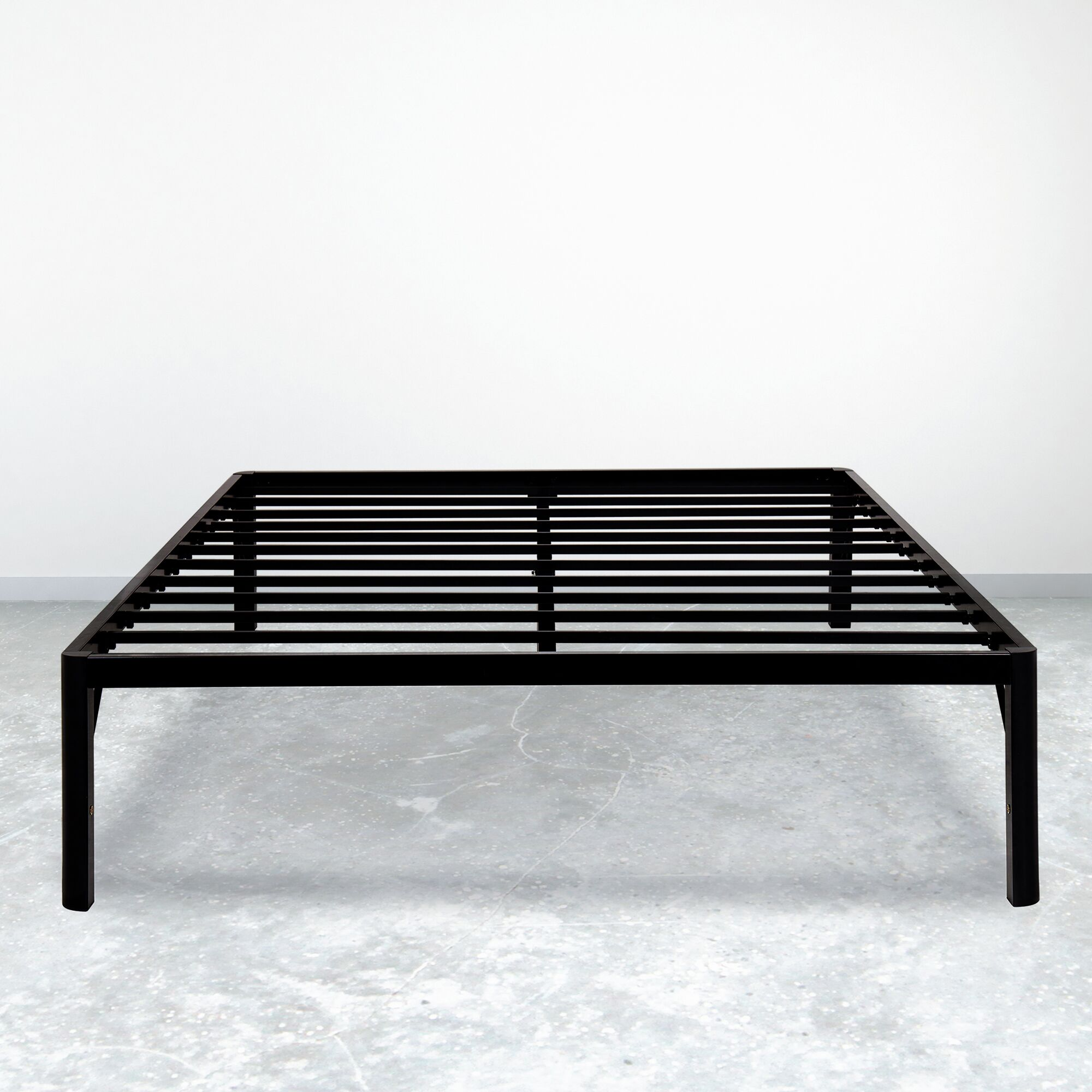 Dura Metal Steel Slate Bed Frame Size: Extra-Long Twin