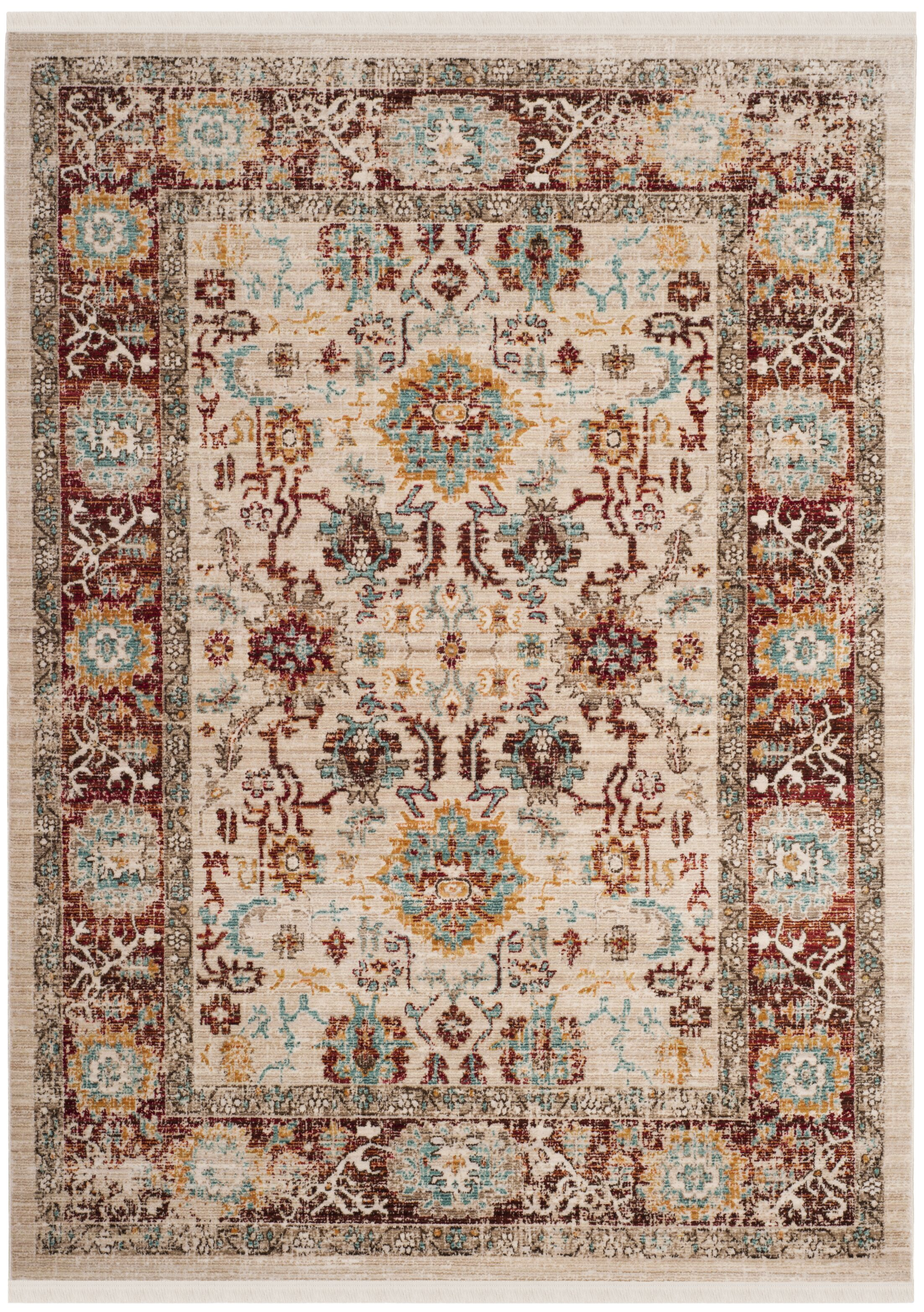 Justine Beige Area Rug Rug Size: Rectangle 9' x 13'