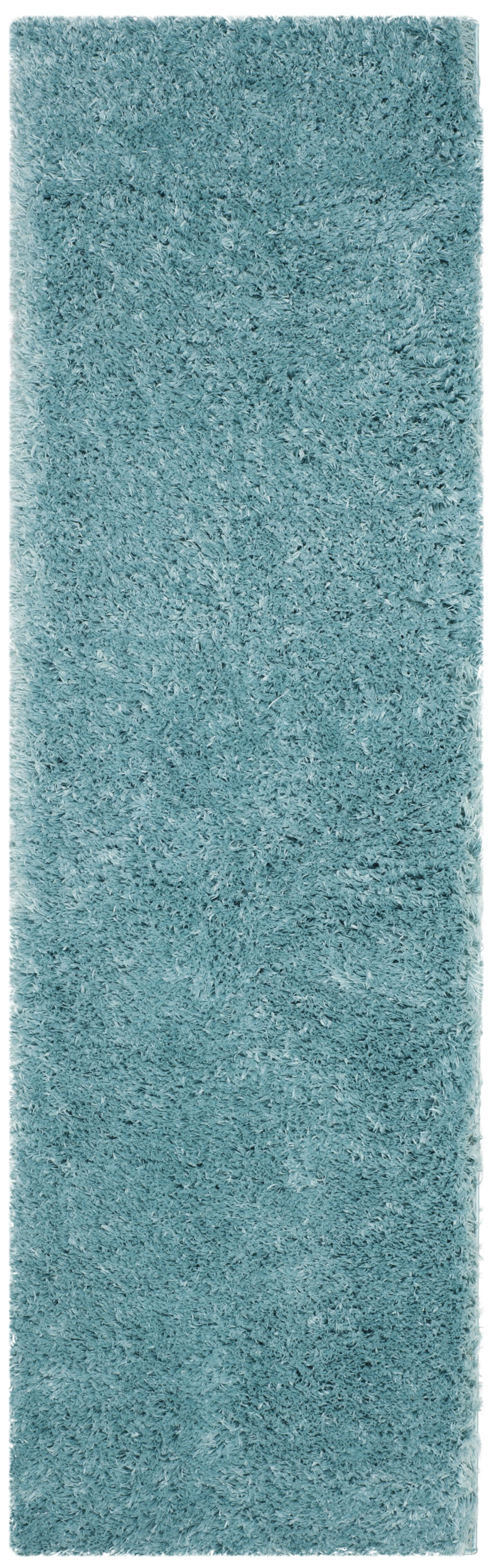 Hermina Light Turquoise Area Rug Rug Size: Runner 2'3