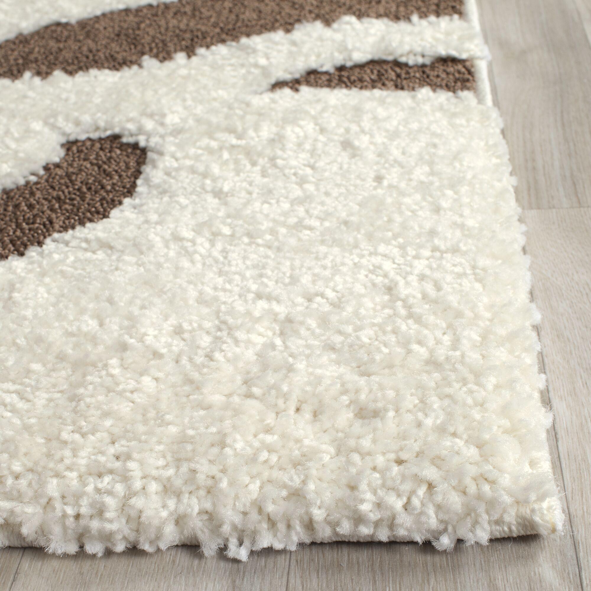 Eulalia Cream Area Rug Rug Size: Rectangle 8' x 10'