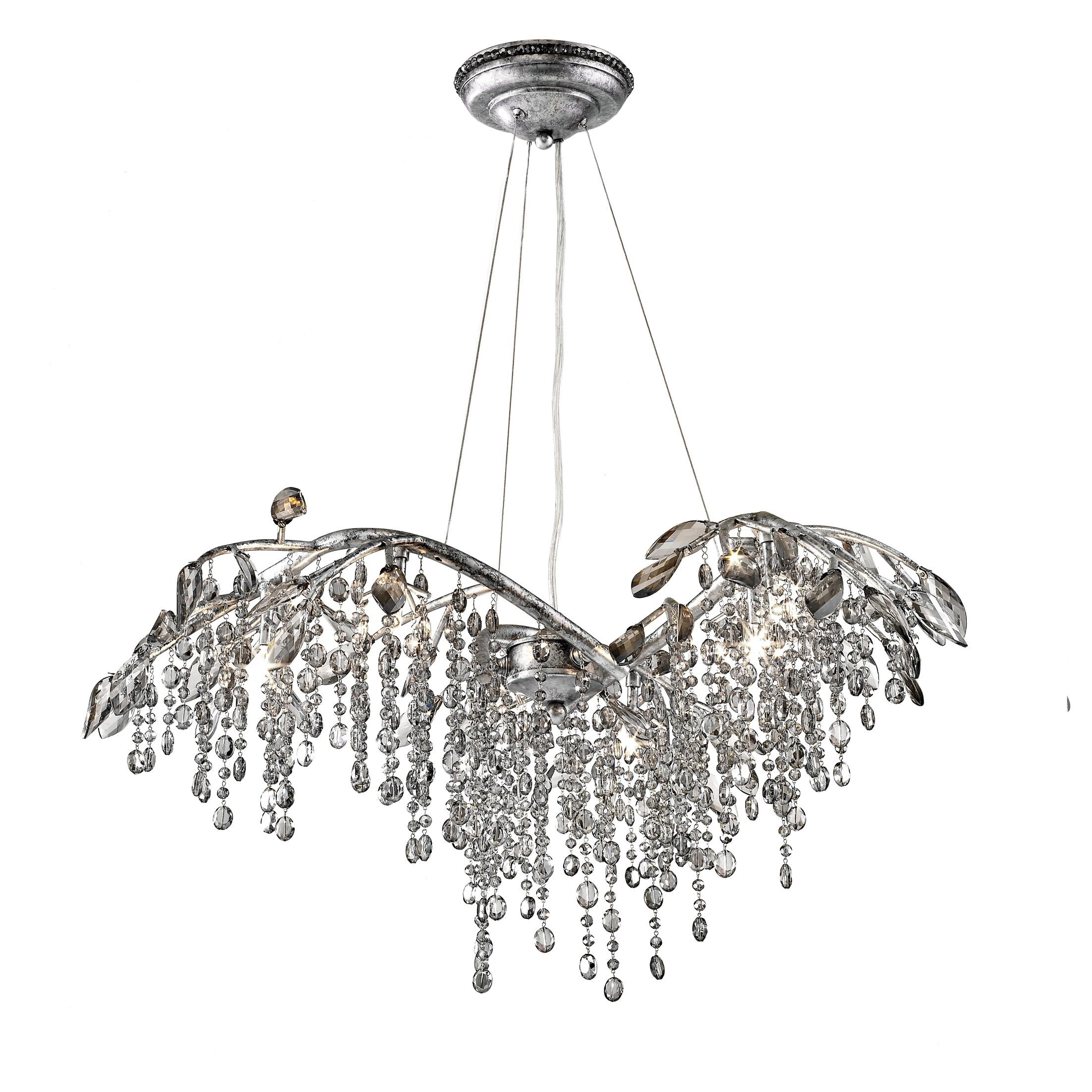 Destrie Crystal Chandelier Size: 15.5