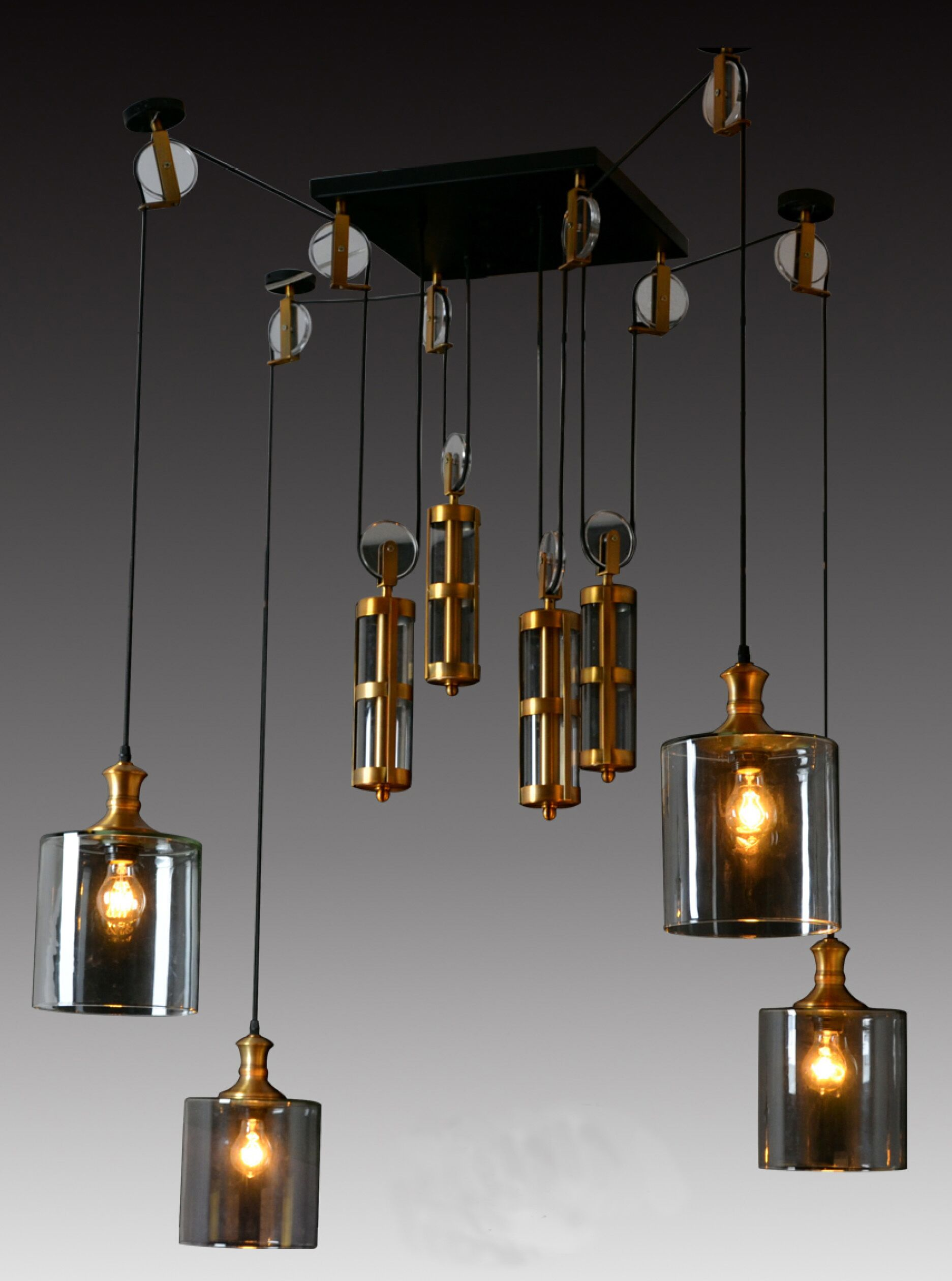 Ciotti 4-Light Cluster Pendant