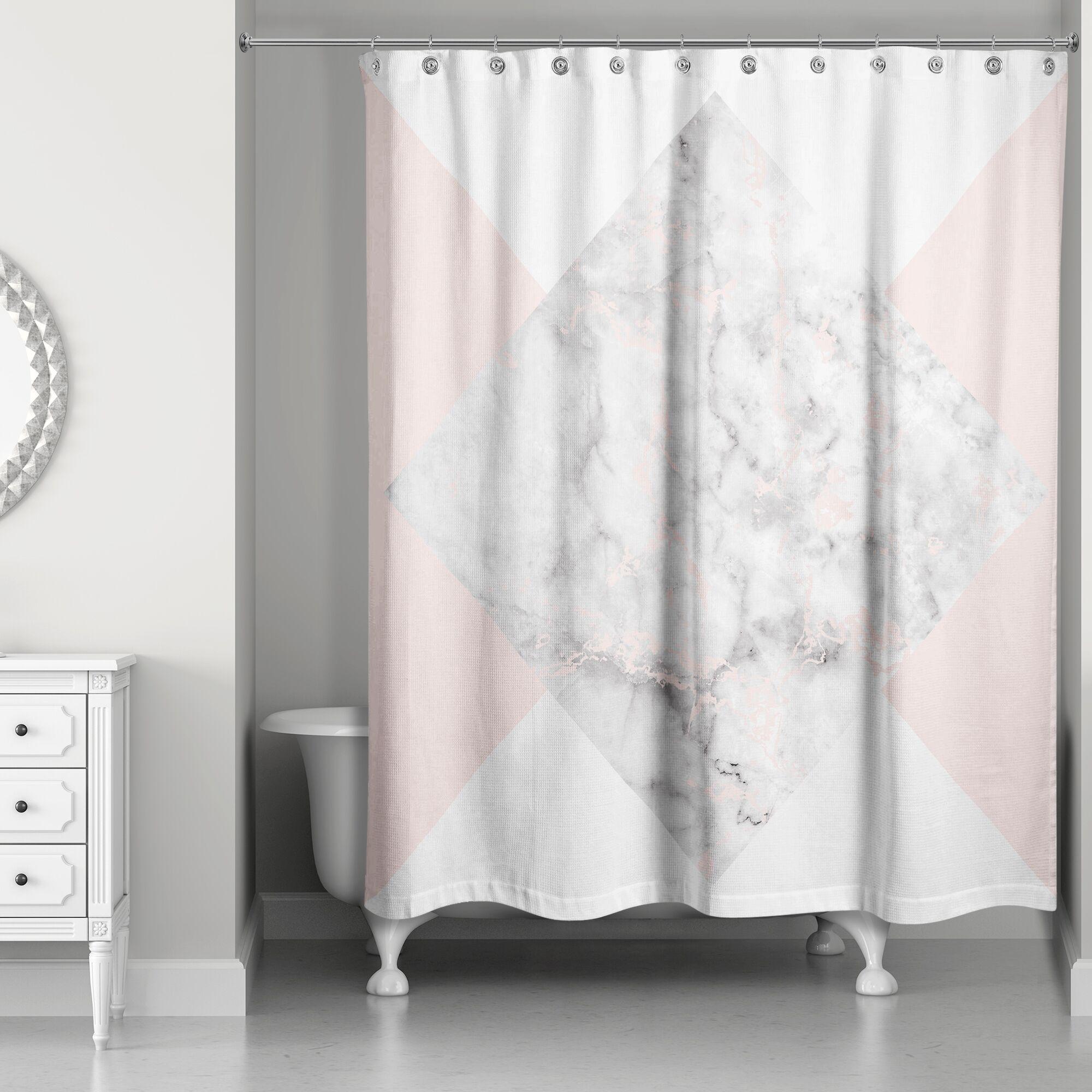Presler Marble Shower Curtain
