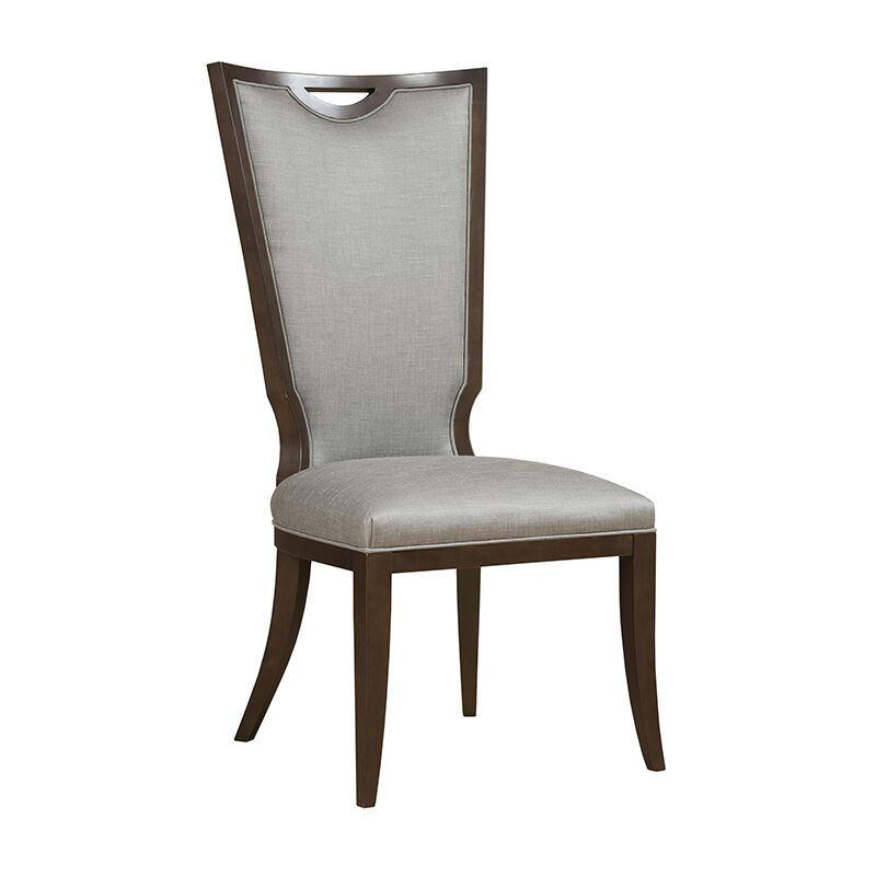 Presidio Upholstered Dining Chair Upholstery Color: Arianna Ivory