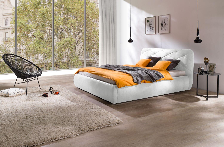 Shawn European King Upholstered Platform Bed