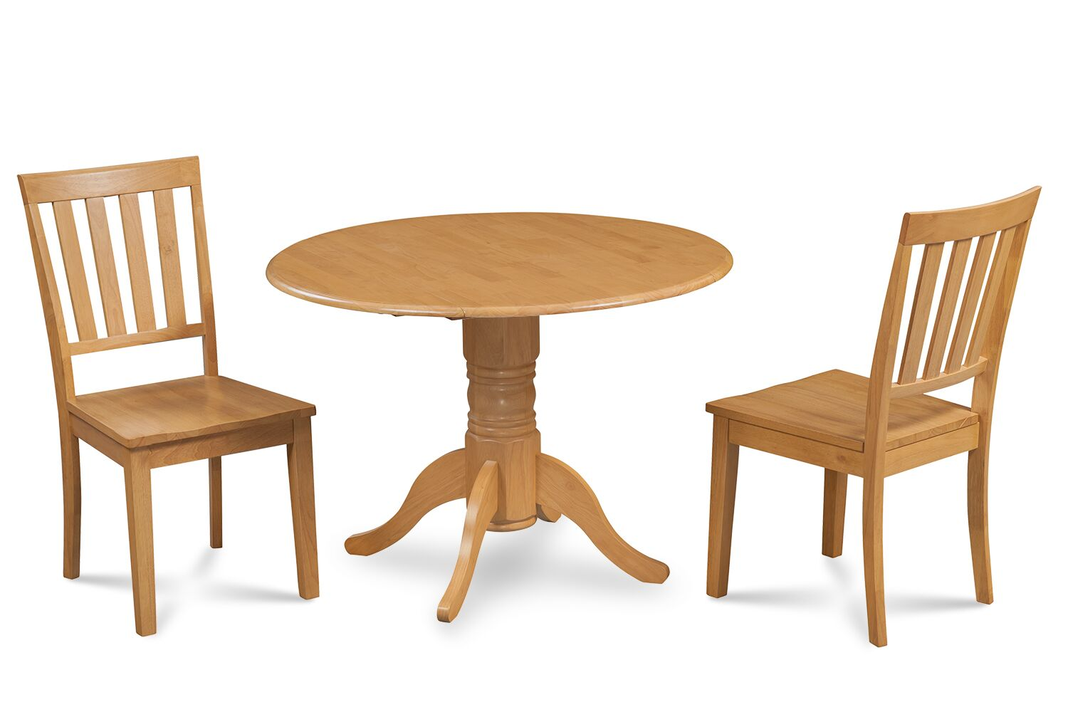Dining Table Sets Chesterton Traditional 3 Piece Solid Wood Dining Set