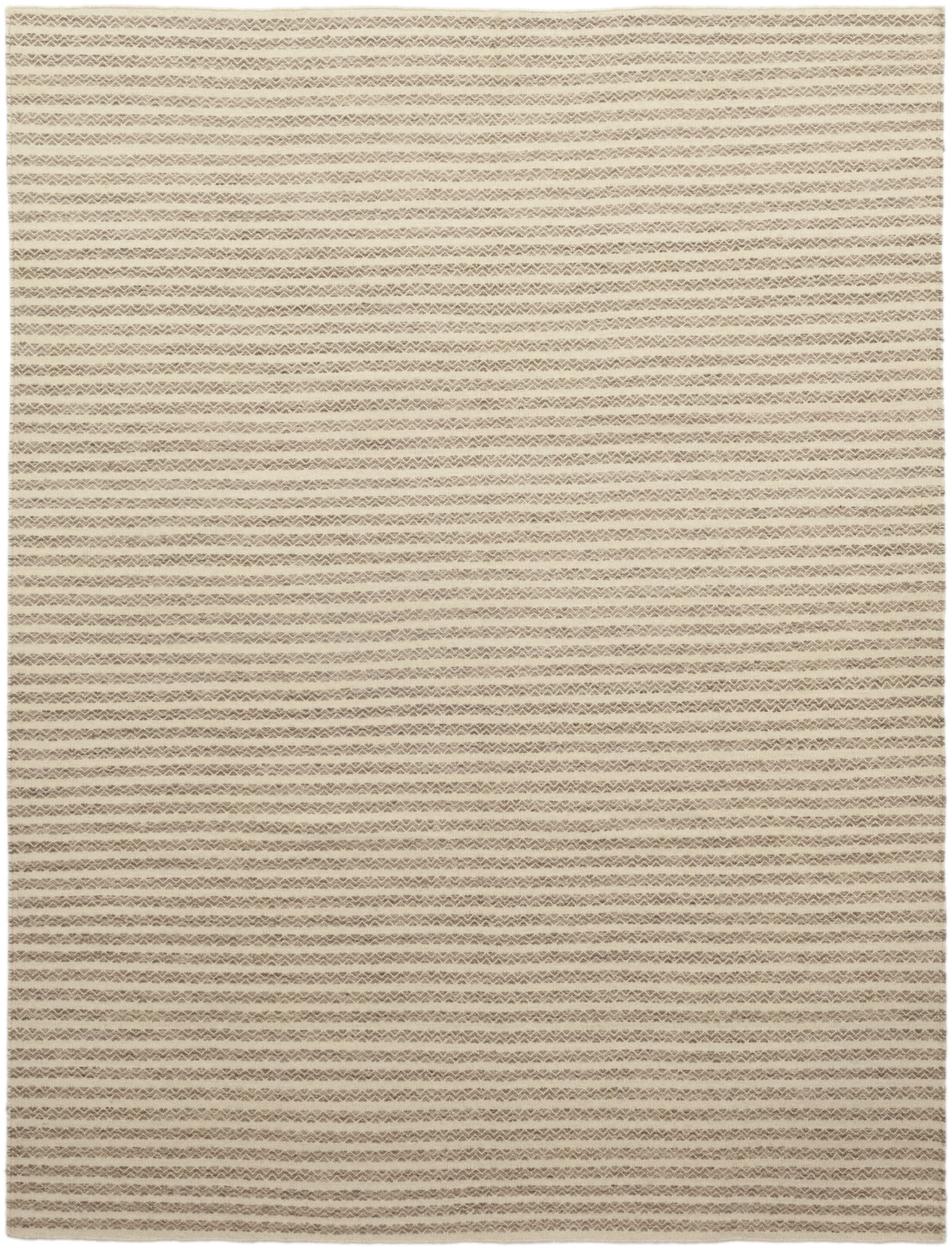 One-of-a-Kind Enders Hand-Knotted Wool Beige Indoor Area Rug