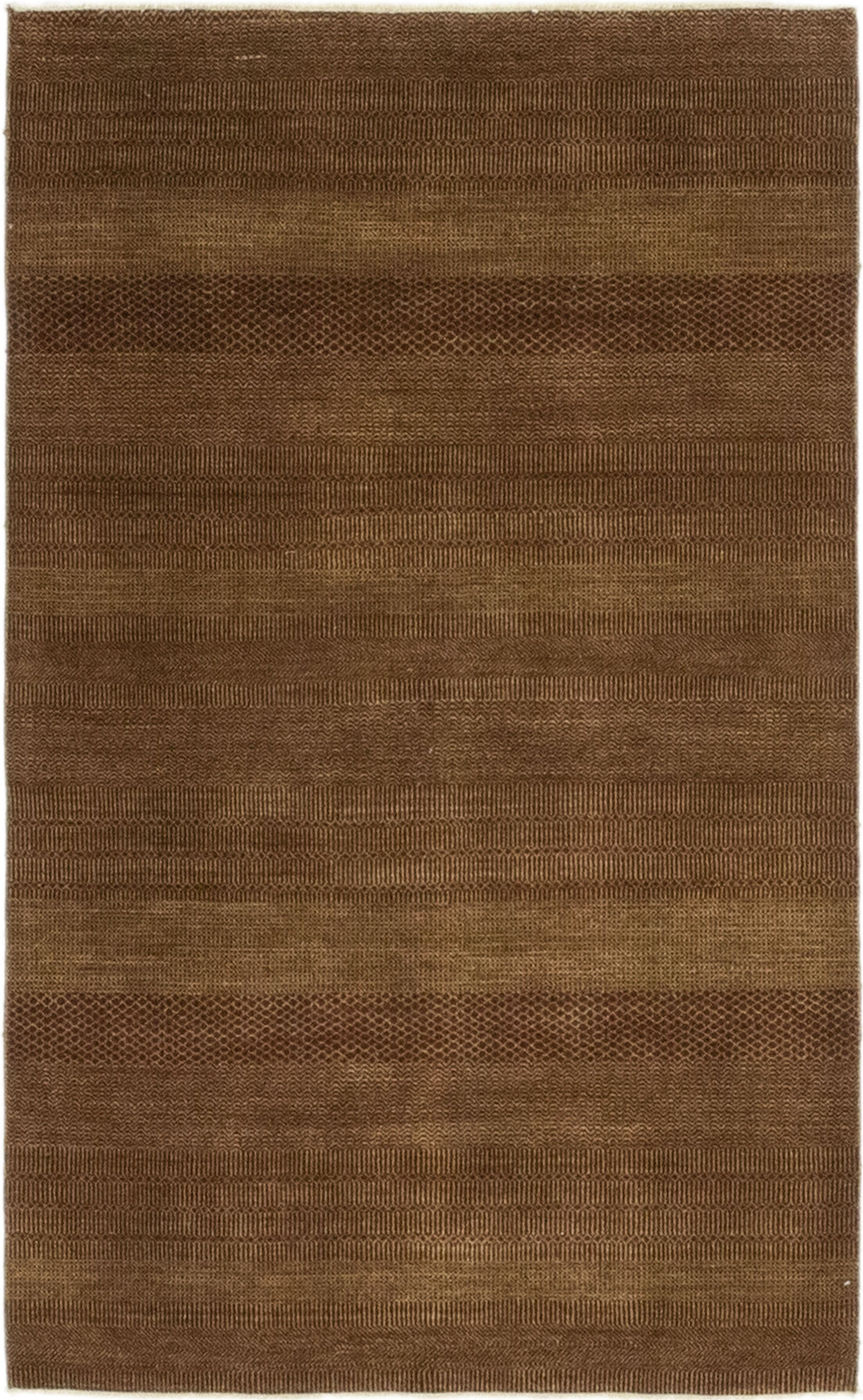 One-of-a-Kind Diederich Hand-Knotted Wool Brown Indoor Area Rug