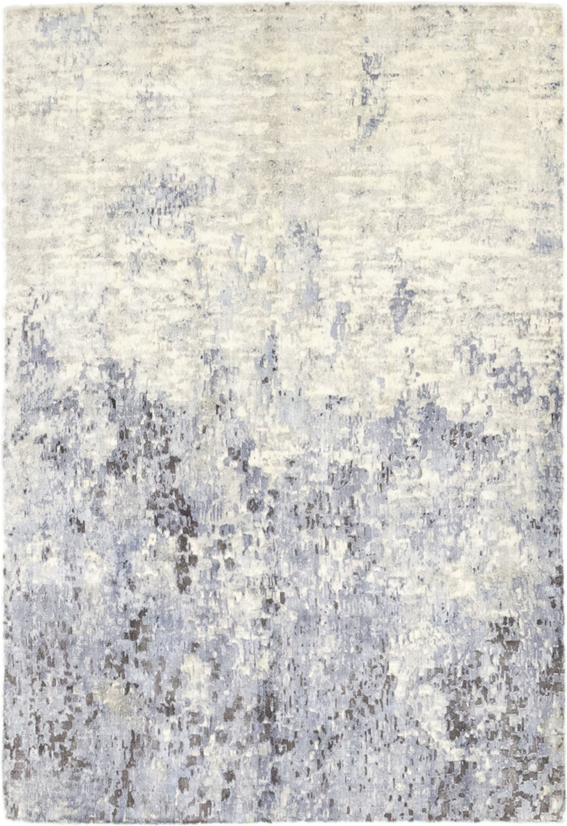 One-of-a-Kind Elizabeth Street Hand-Knotted Wool Beige Indoor Area Rug