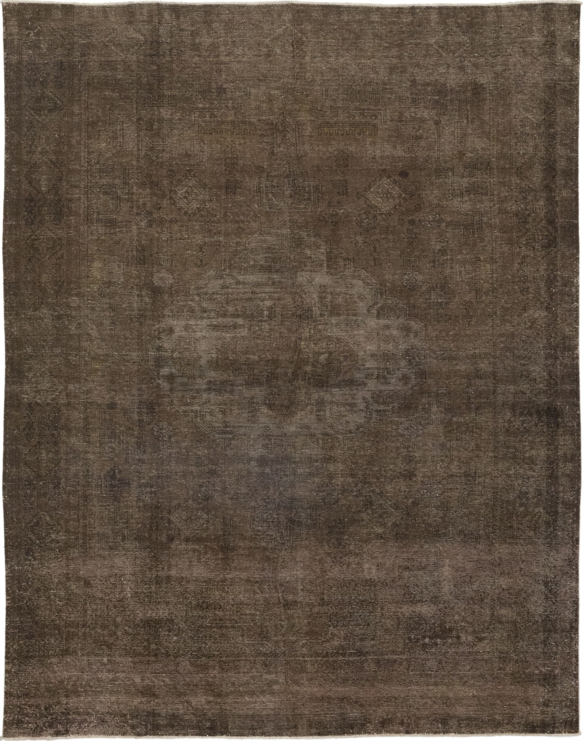 One-of-a-Kind Sansoucy Hand-Knotted Wool Brown Indoor Area Rug