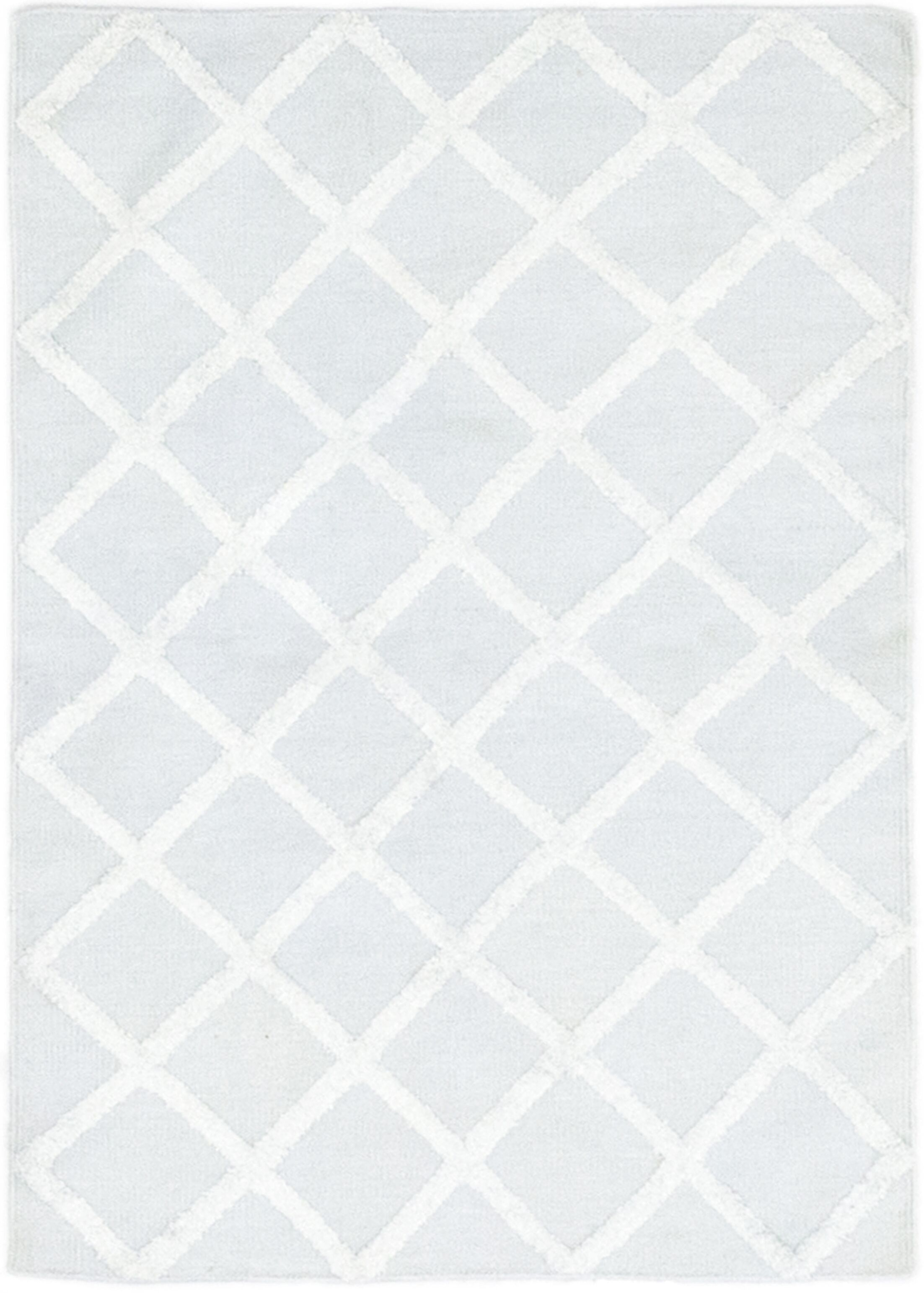 One-of-a-Kind Newhall Hand-Knotted Wool Gray Indoor Area Rug