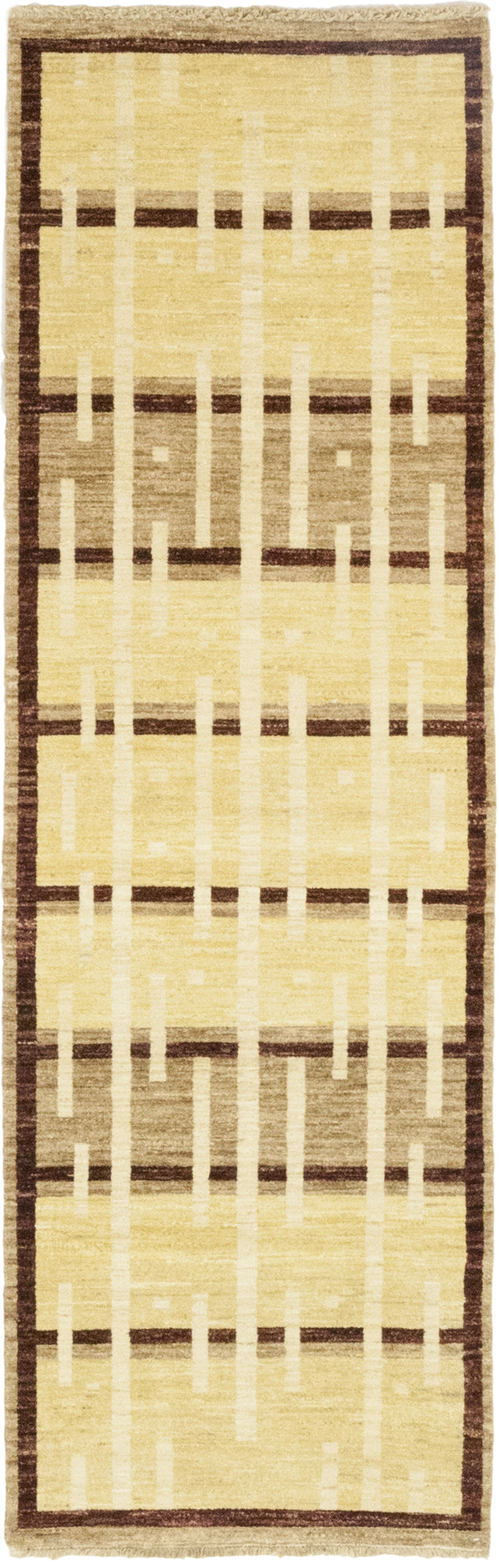 One-of-a-Kind Bieber Hand-Knotted Wool Beige/Brown Indoor Area Rug
