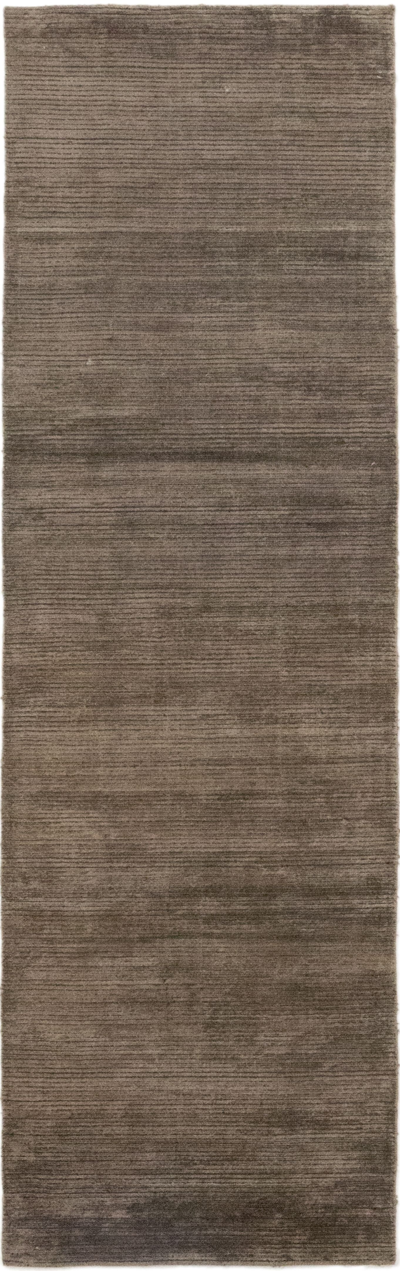 One-of-a-Kind Rowsey Hand-Knotted Silk Brown Indoor Area Rug