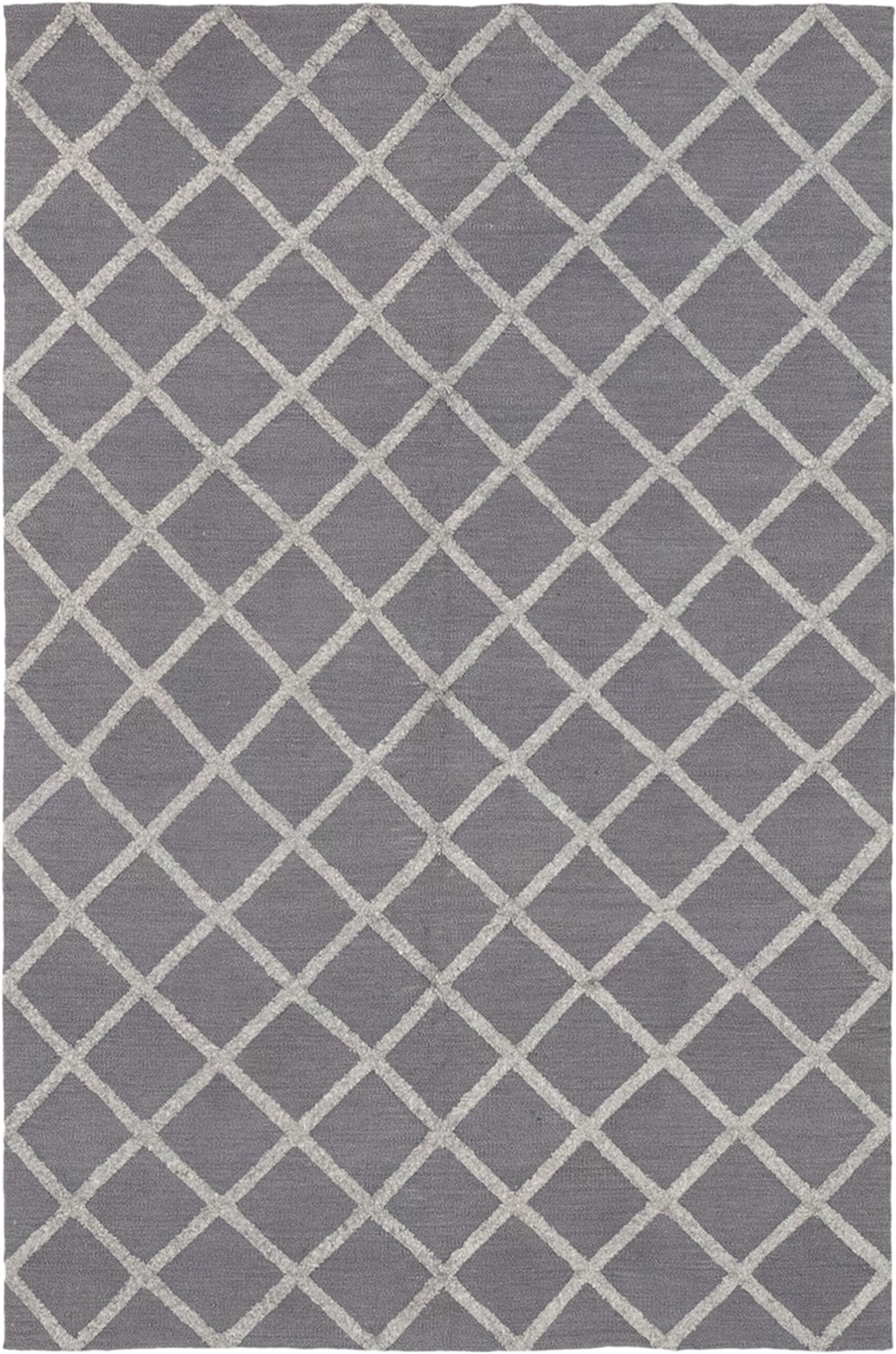 One-of-a-Kind Embree Hand-Knotted Wool Gray Indoor Area Rug
