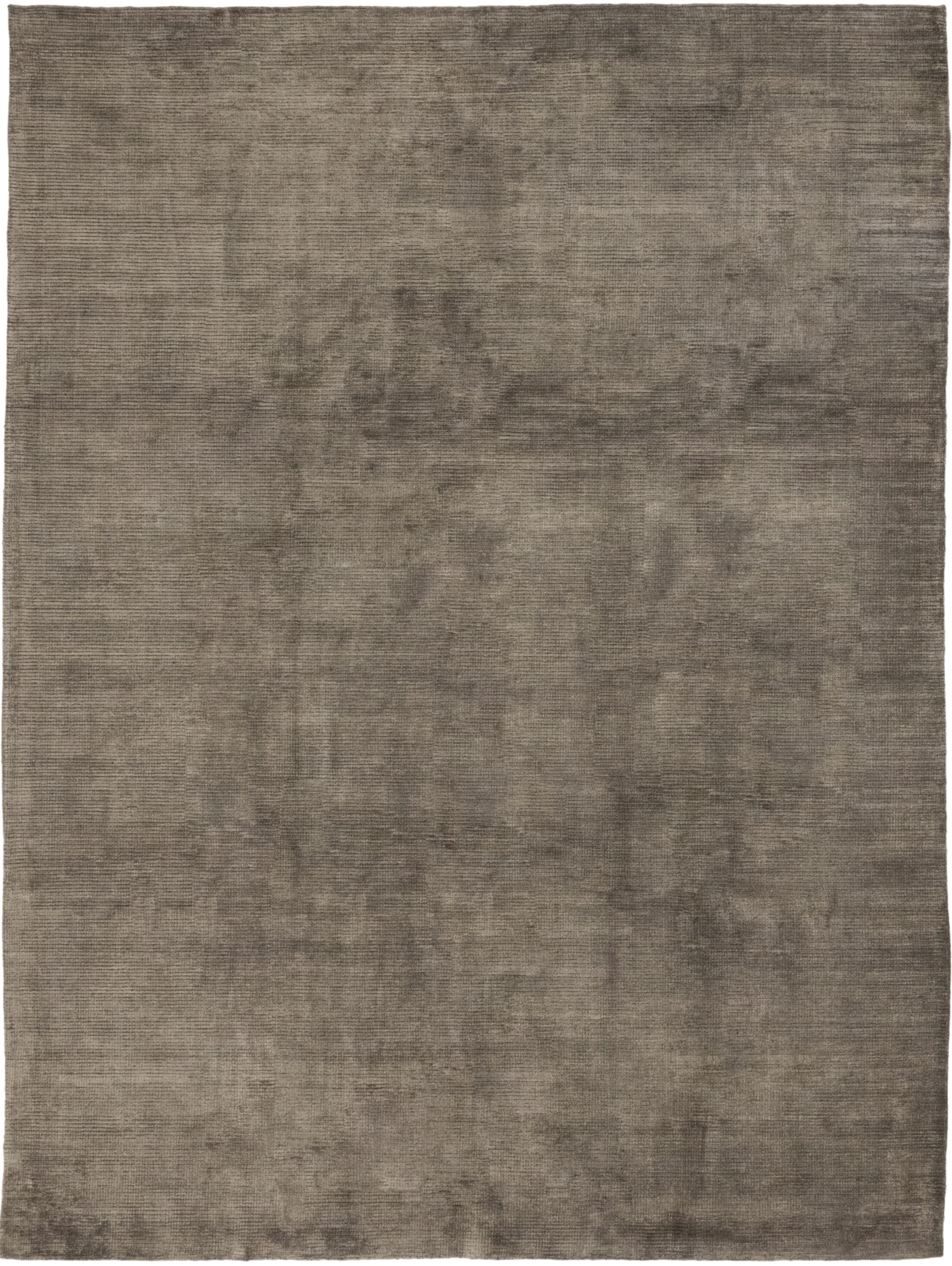 One-of-a-Kind Rowlands Hand-Knotted Wool/Silk Brown Indoor Area Rug