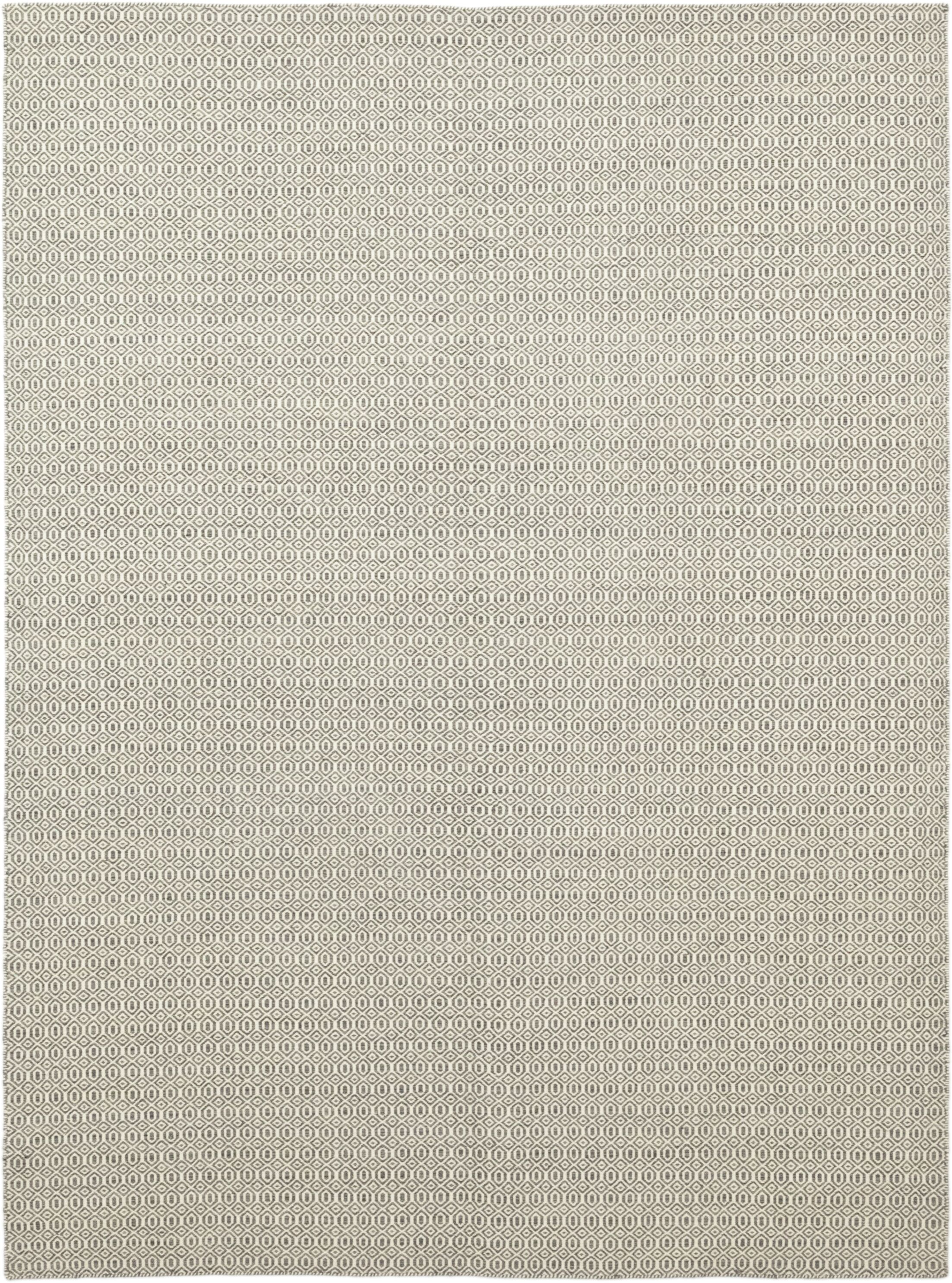 One-of-a-Kind Lemond Hand-Knotted Wool Beige Indoor Area Rug
