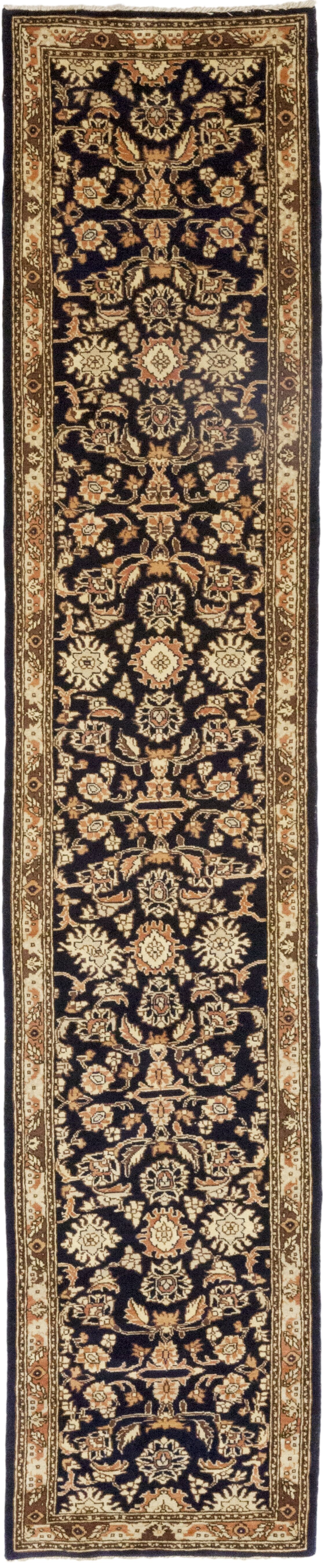 One-of-a-Kind Corrado Hand-Knotted Wool Black/Brown Indoor Area Rug