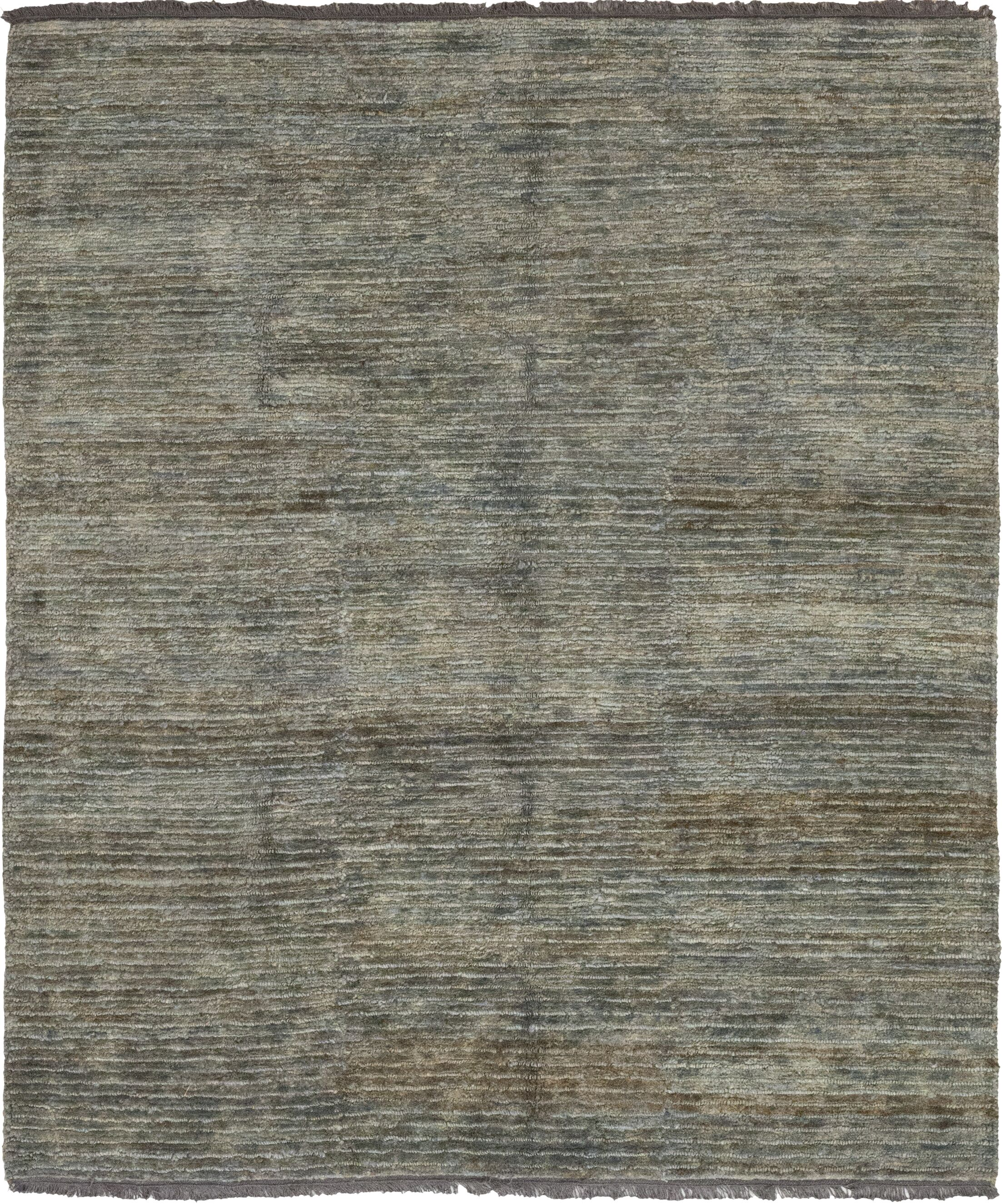 One-of-a-Kind Muskegon Handwoven Gray Indoor Area Rug