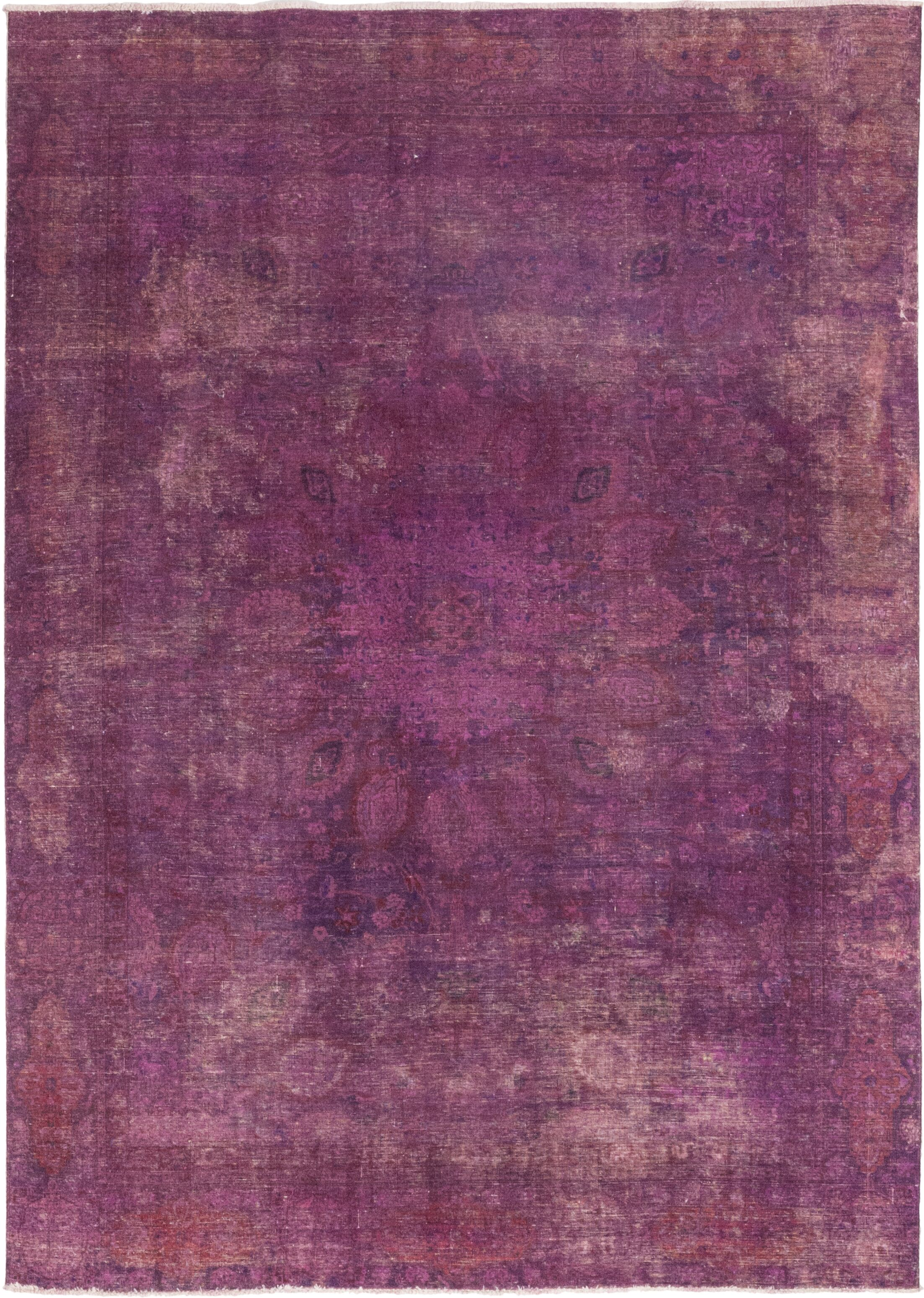 One-of-a-Kind Omane-Brimpong Hand-Knotted Wool Pink Indoor Area Rug