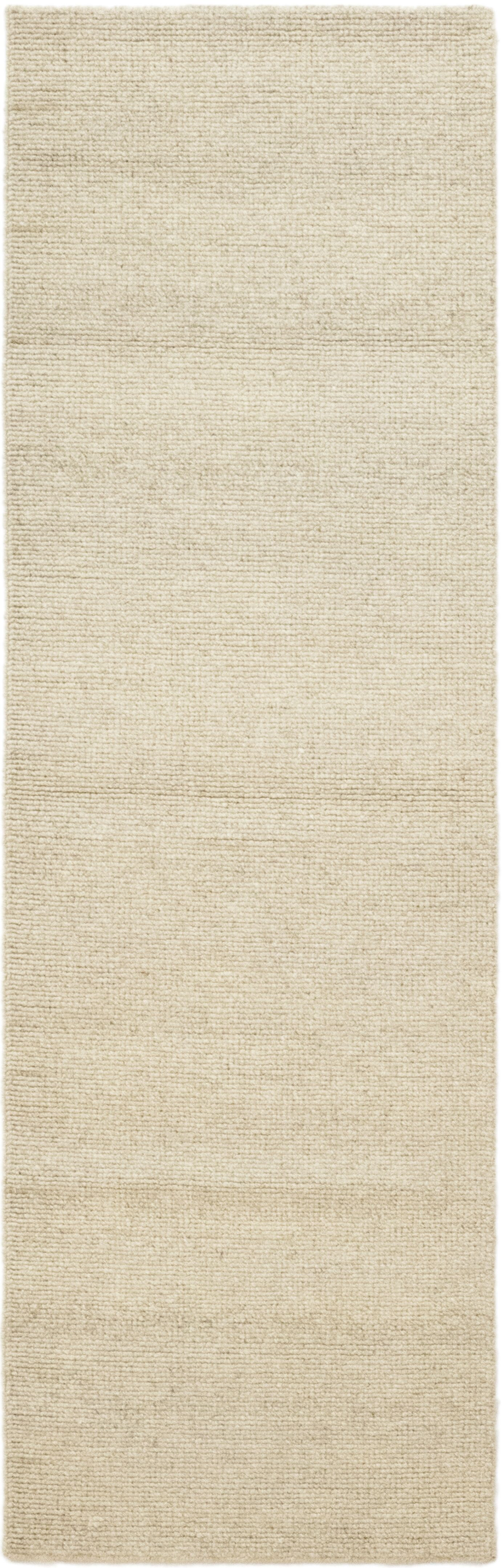 One-of-a-Kind Montreux Hand-Knotted Wool Beige Indoor Area Rug