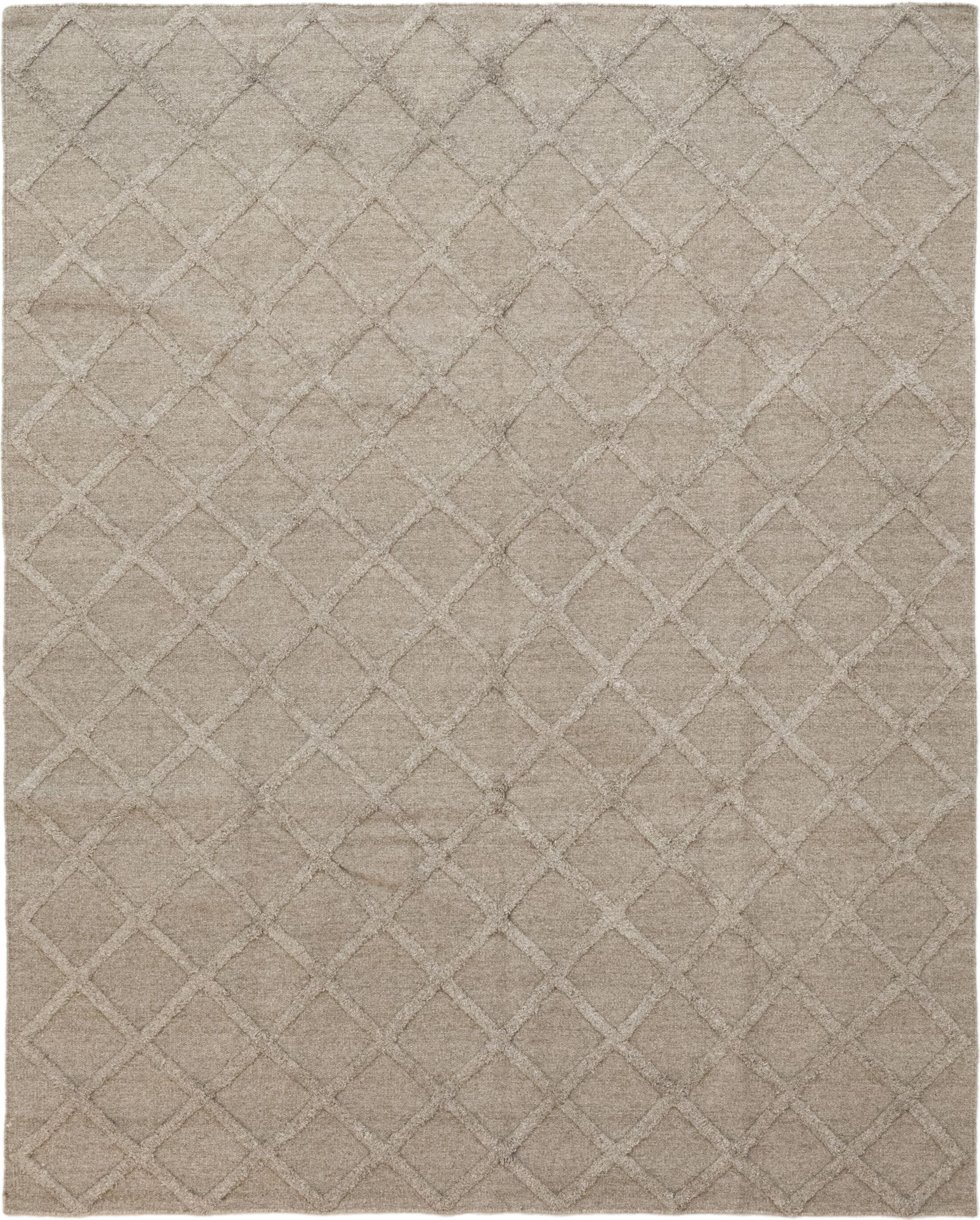 One-of-a-Kind Ellett Hand-Knotted Wool Brown Indoor Area Rug