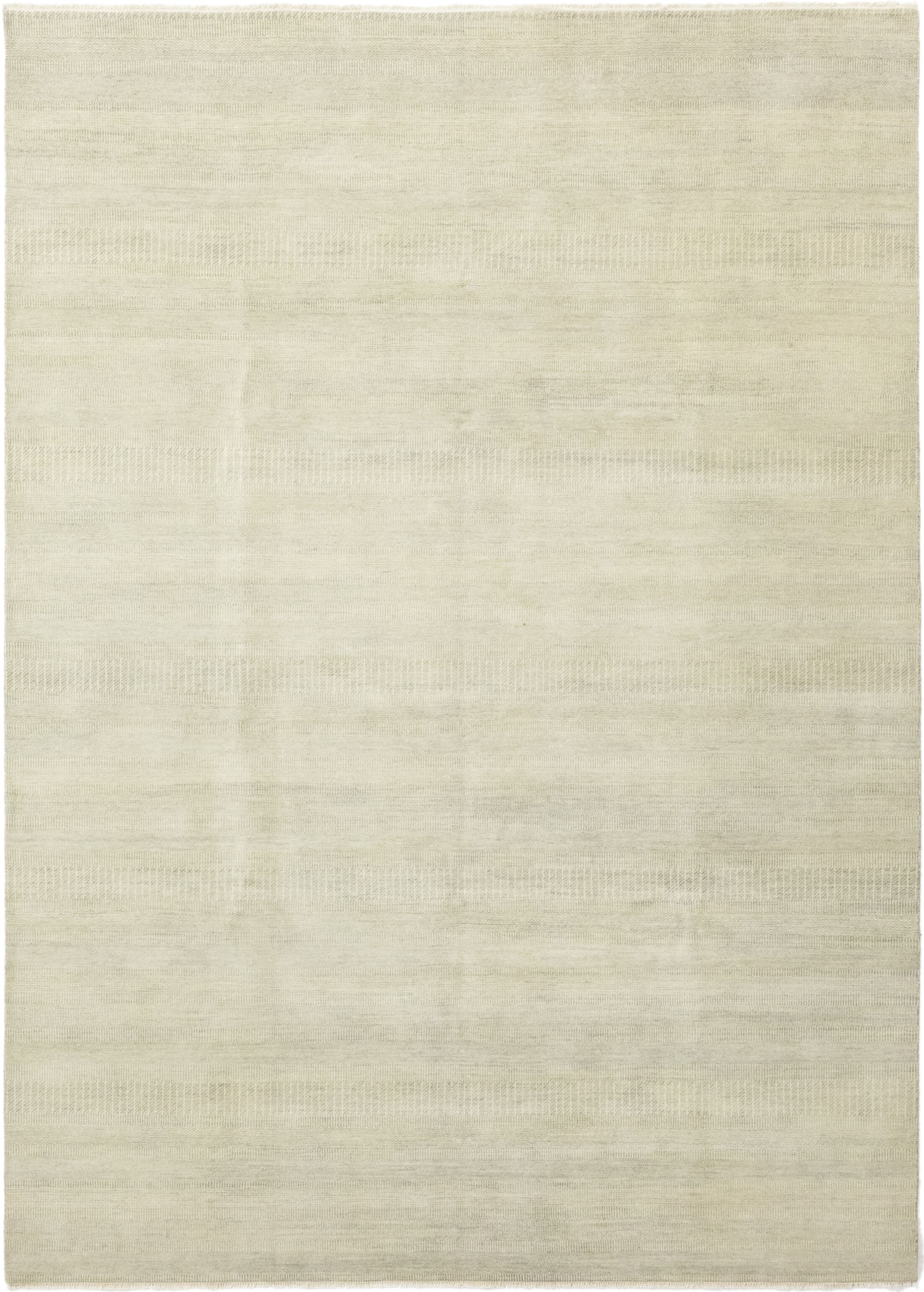 One-of-a-Kind Diederich Hand-Knotted Wool Beige Indoor Area Rug