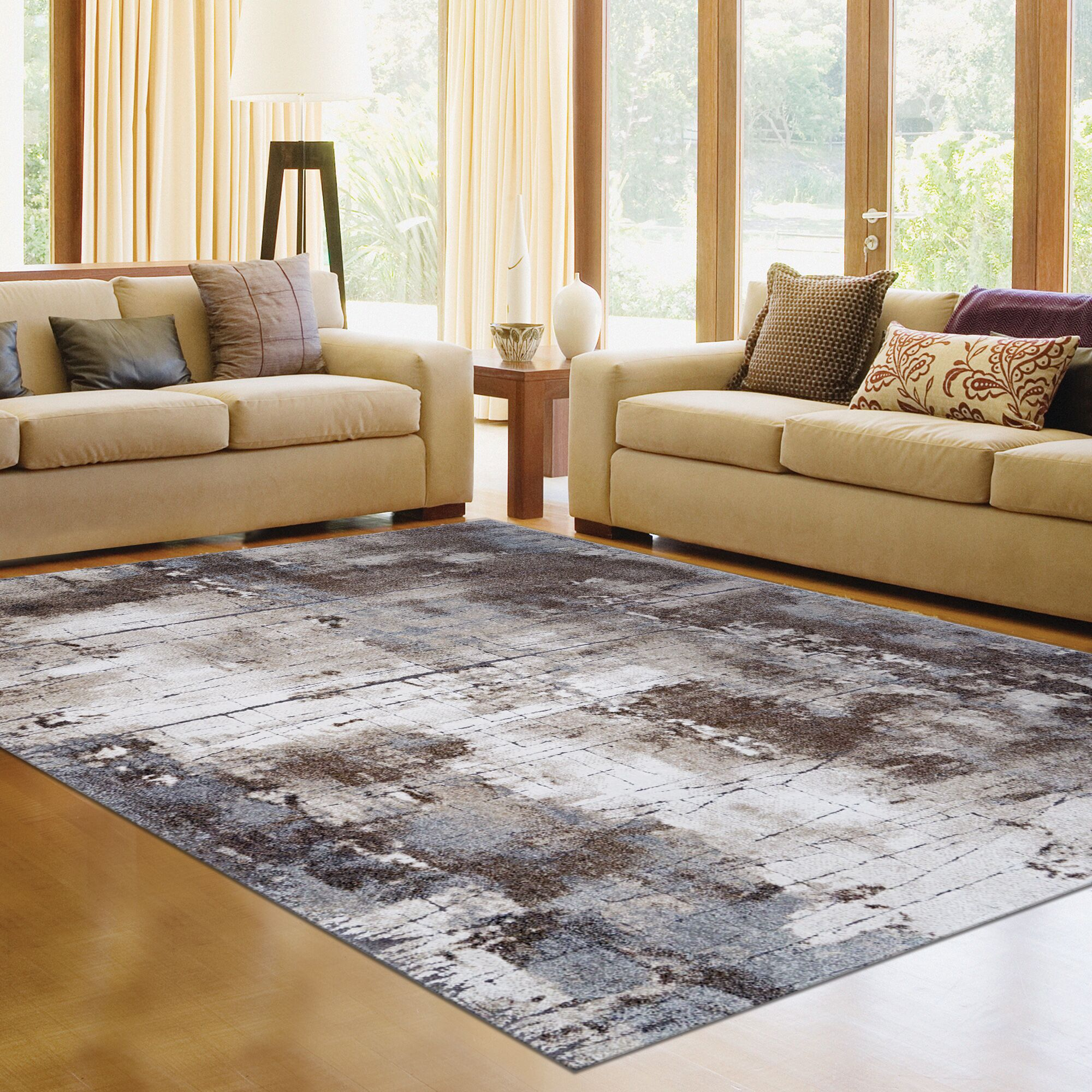 New Style Allure Area Rug Rug Size: 5'3