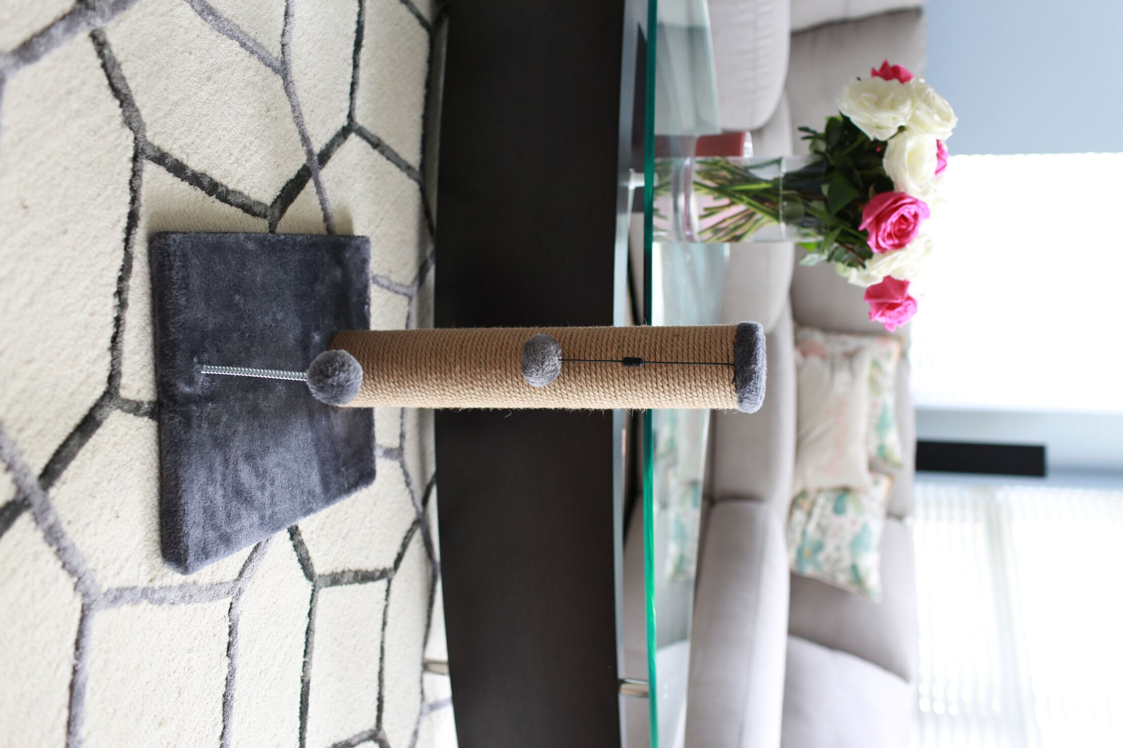 Linzy Jute Scratchers and Scratching Post Size: 16.25