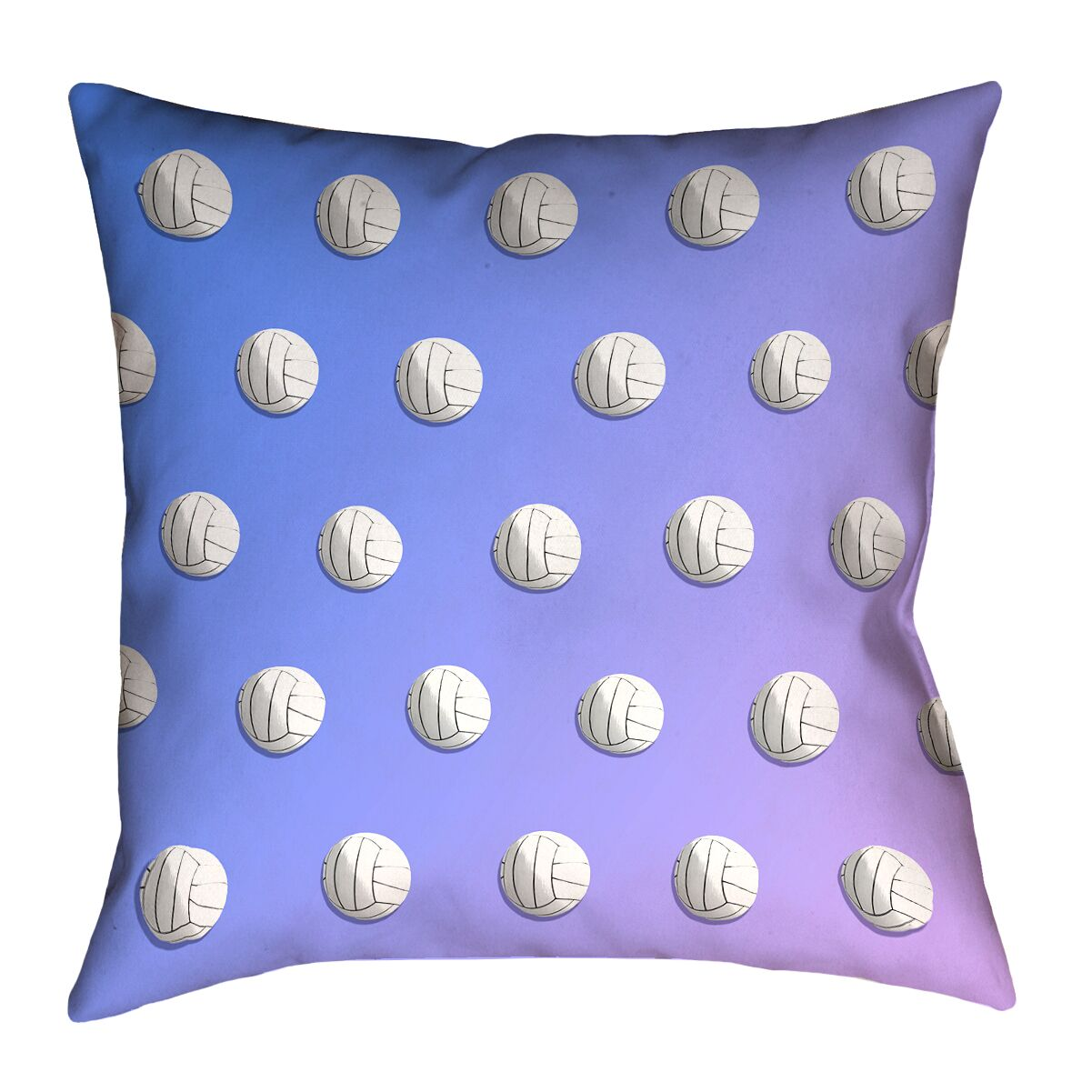Volleyball Floor Pillow Size: 28