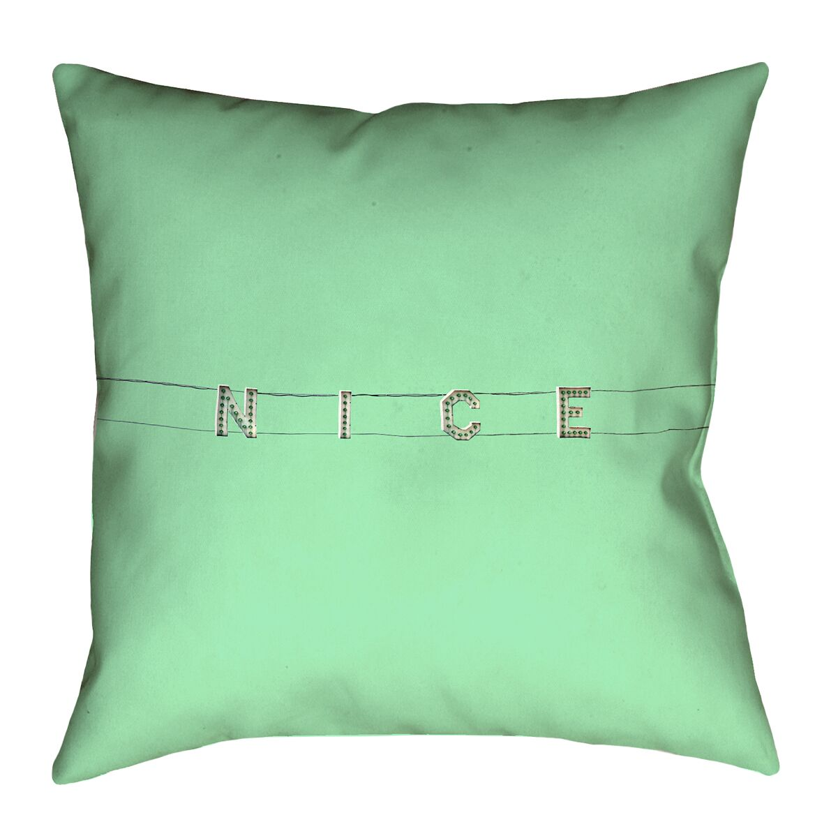 Hansard Nice Square Pillow Cover Size: 20