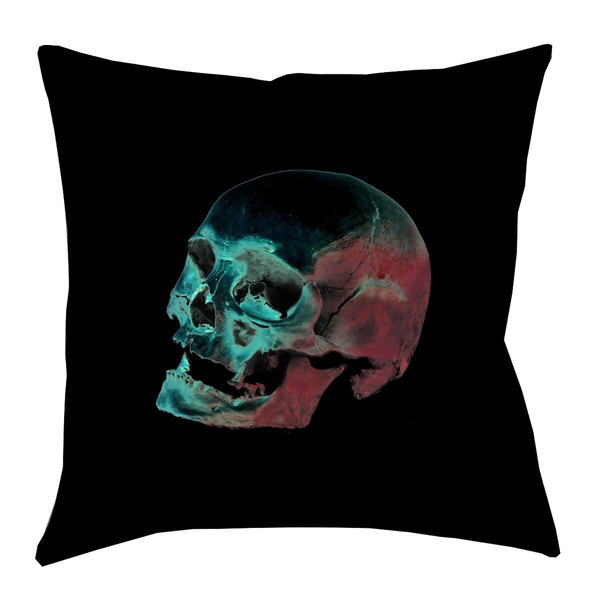 Skull Floor Pillow Size: 40