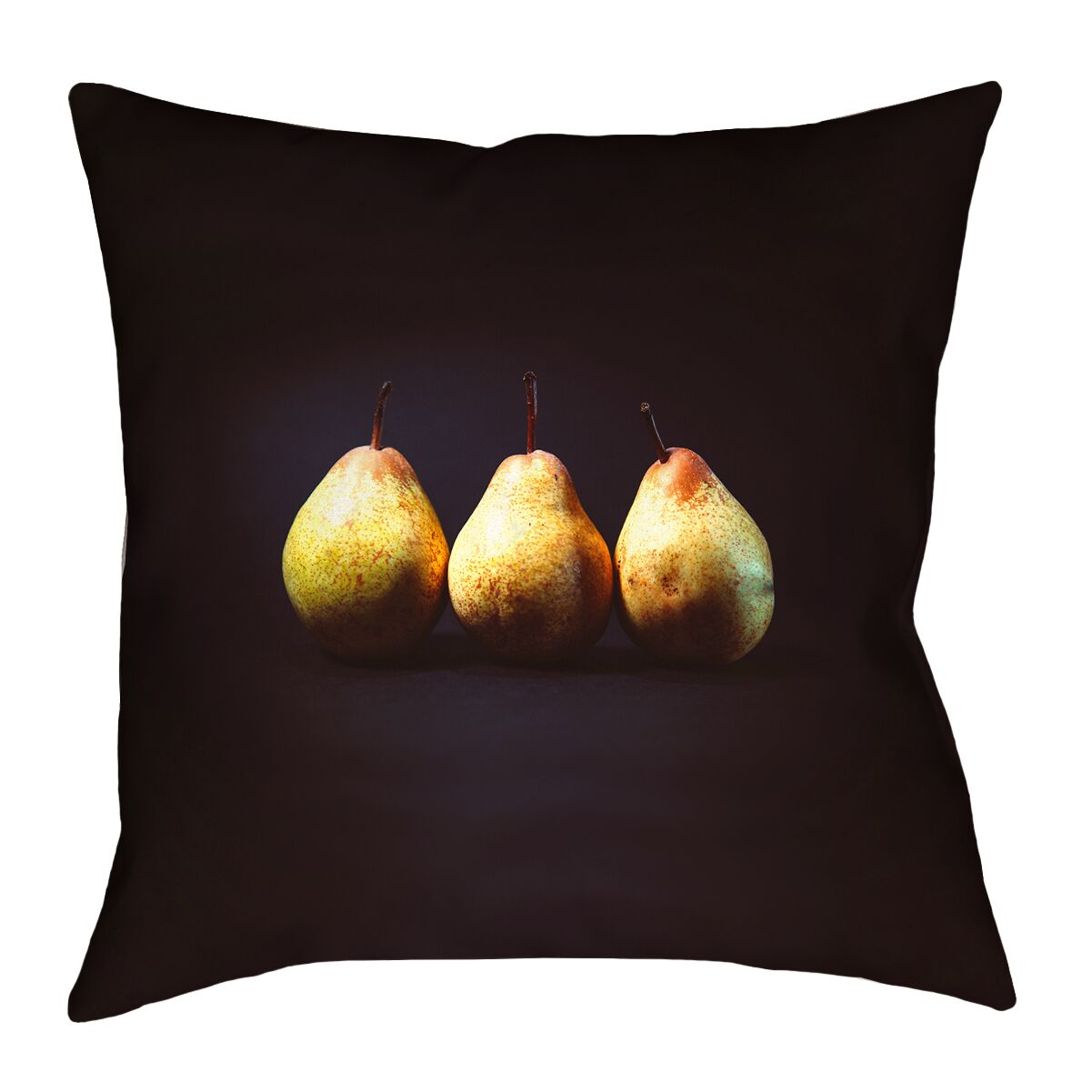 Pears 100% Cotton Euro Pillow