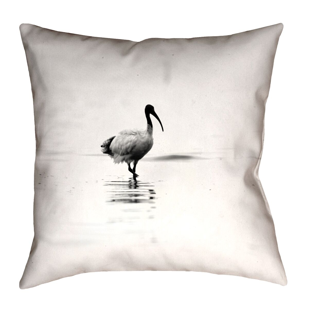 Castillo Ibis Double Sided Throw Pillow Size: 26