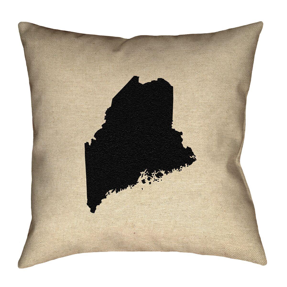 Austrinus Maine Square Floor Pillow Size: 28