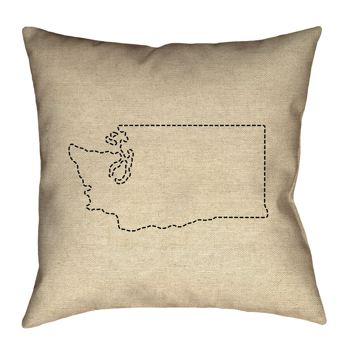 Sherilyn Washington Outdoor Throw Pillow Size: 20