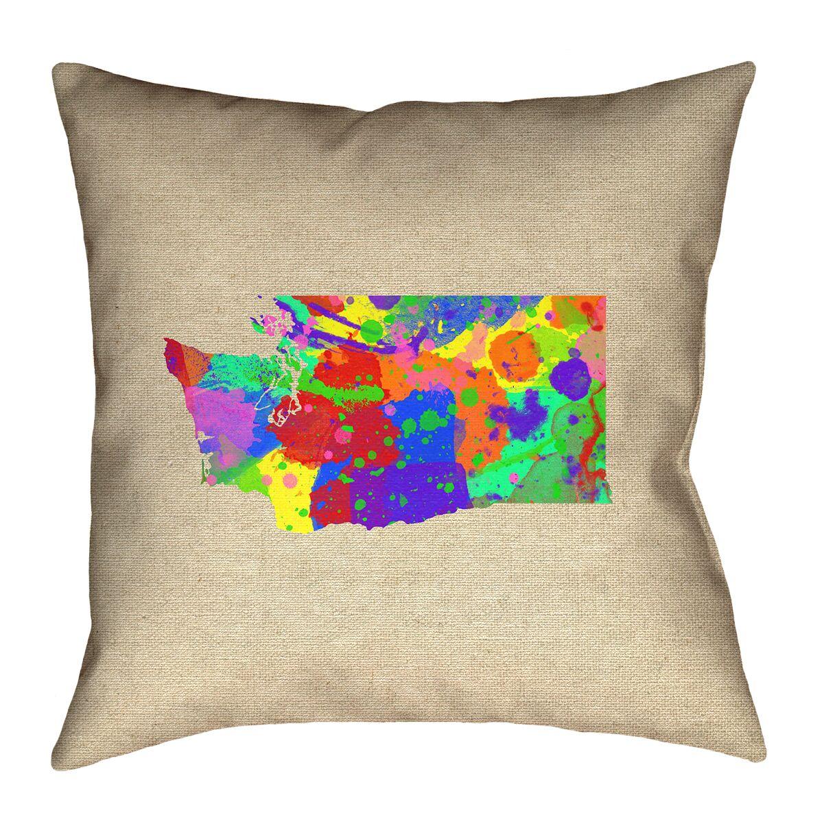 Sherilyn Washington Double Sided Print Floor Pillow Size: 40