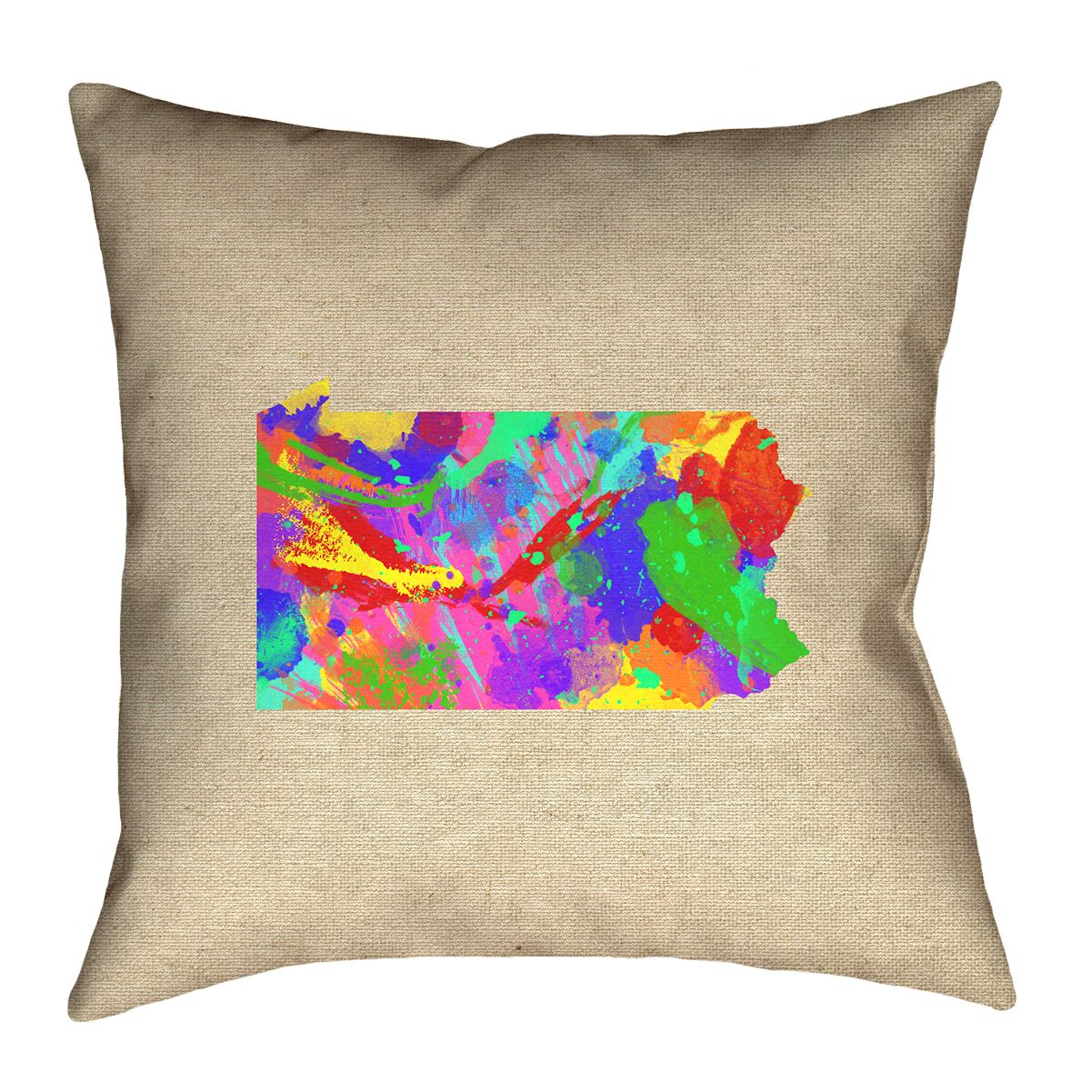 Sherilyn Pennsylvania Floor Pillow Size: 40