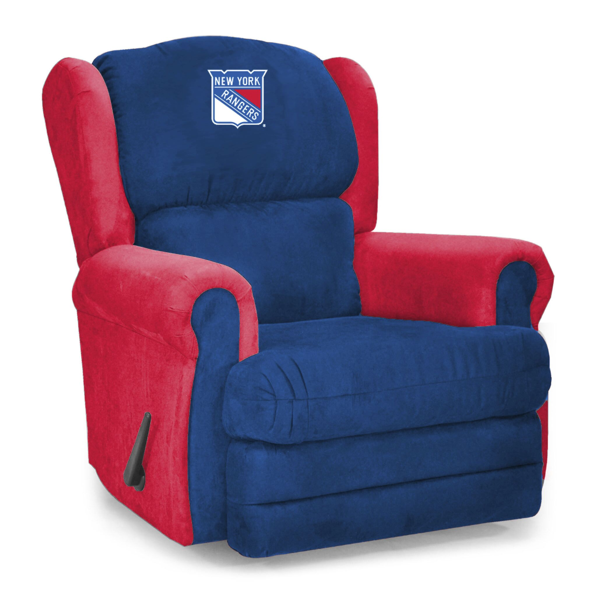 Coach Microfiber Recliner NHL Team: New York Rangers®